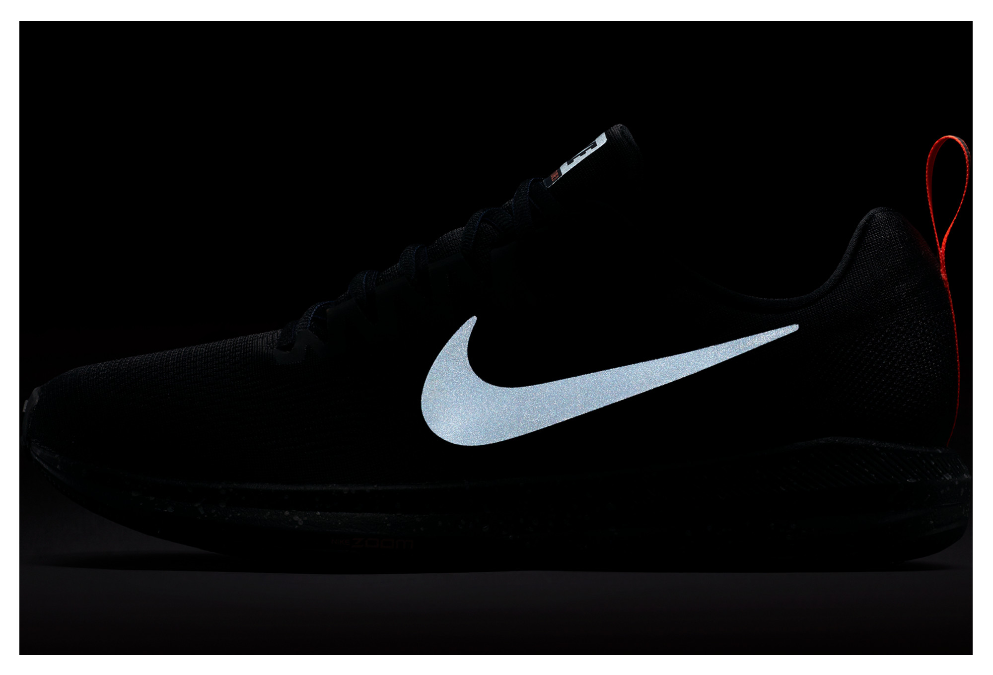 Nike Air Zoom Structure 21 Shield Black Men