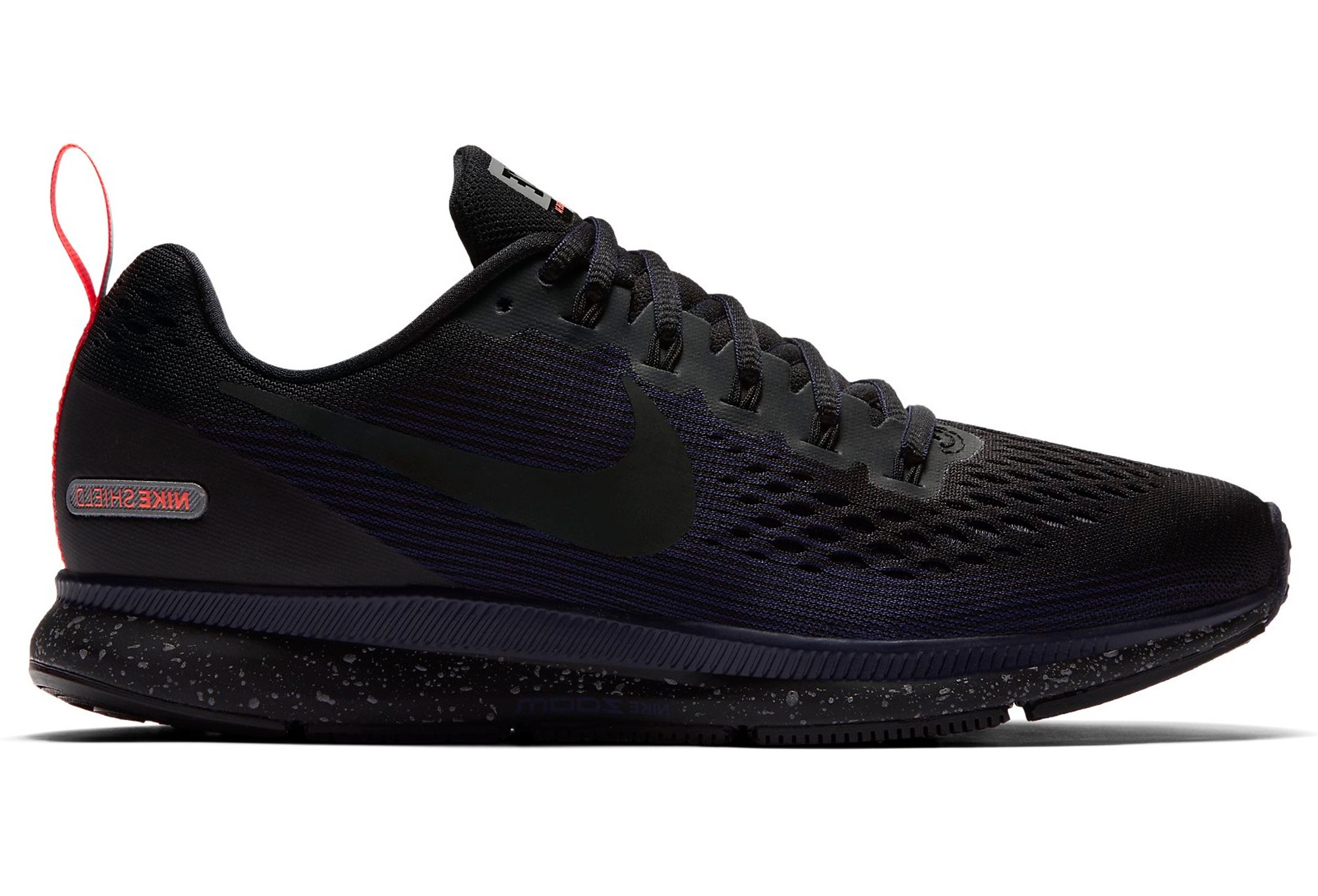 f76f38324504e Nike Air Zoom Pegasus 34 Shield Black Blue Women | Alltricks.com