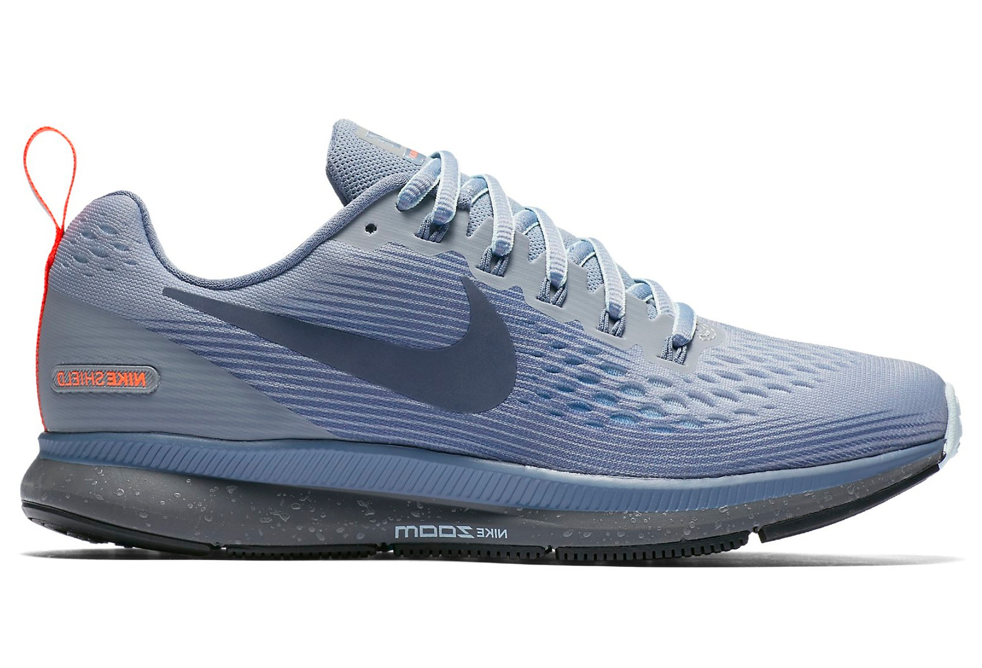 866fa81455c8 Nike Air Zoom Pegasus 34 Shield Grey Blue Women