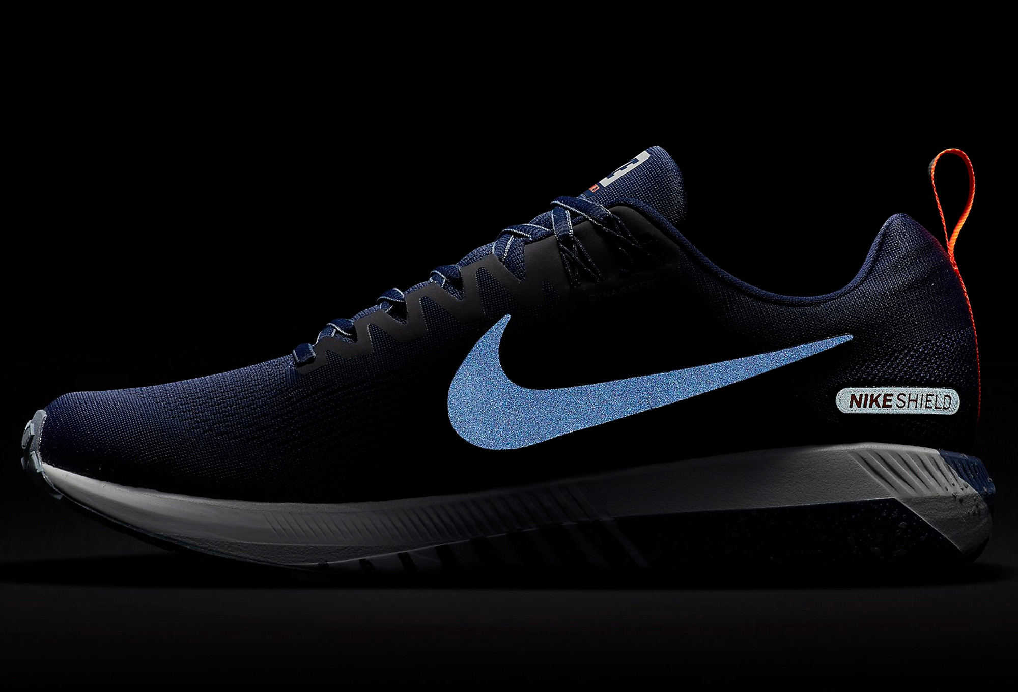 1e4b7a57025a1 Nike Air Zoom Structure 21 Shield Blue Men