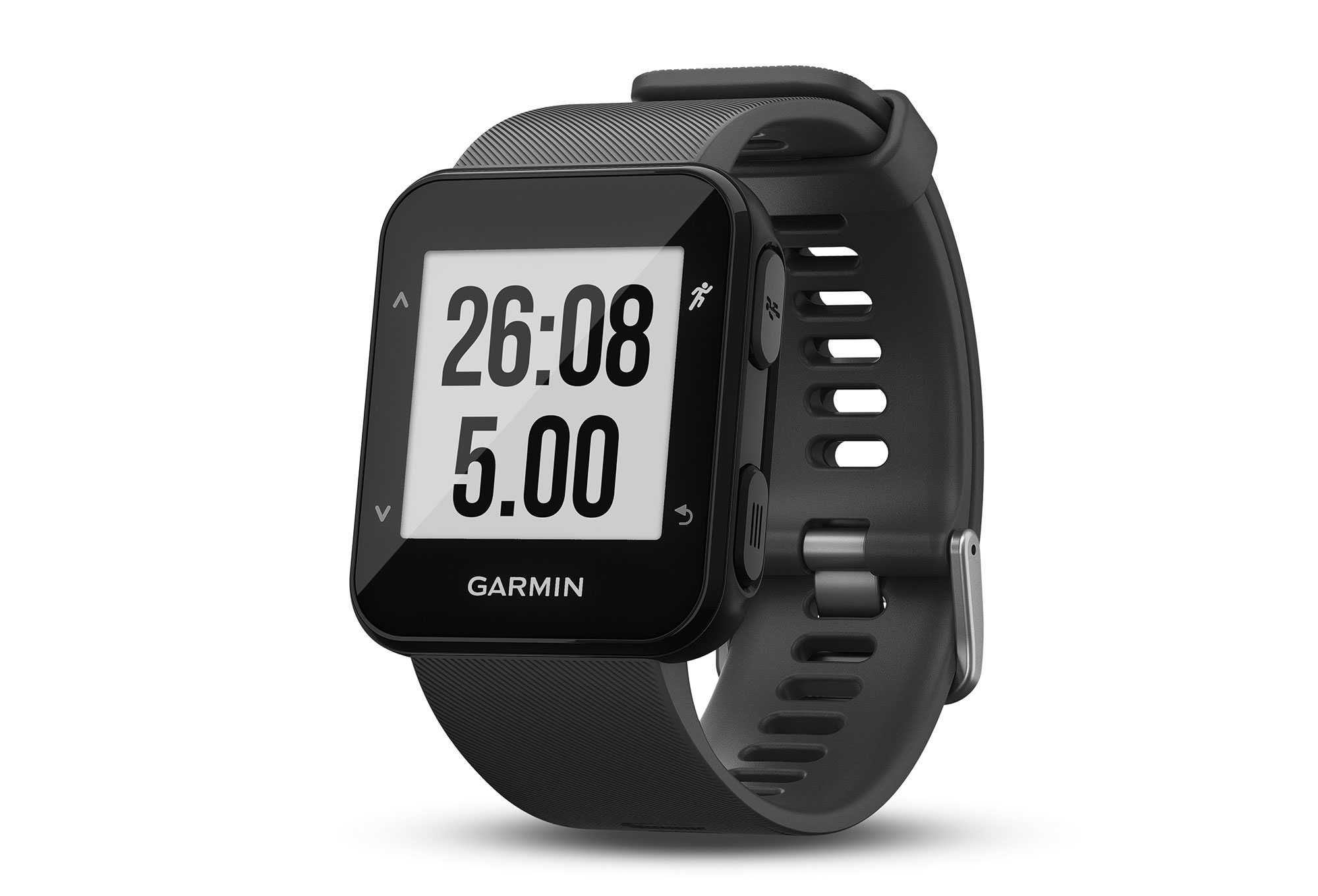 montre gps garmin forerunner 30 gris. Black Bedroom Furniture Sets. Home Design Ideas