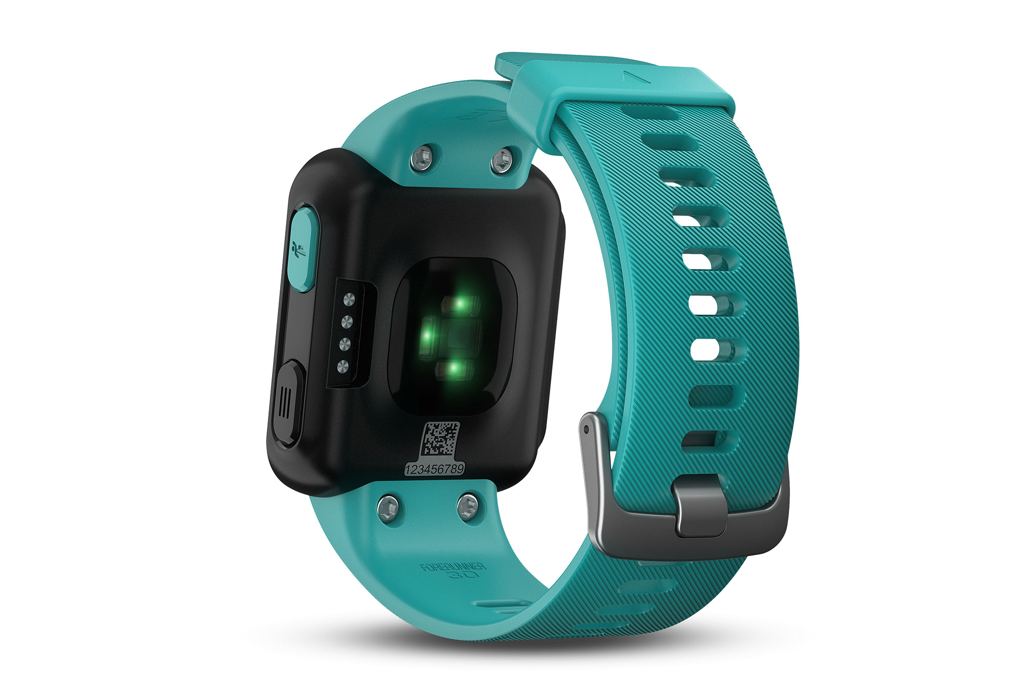 montre gps garmin forerunner 30 bleu turquoise. Black Bedroom Furniture Sets. Home Design Ideas