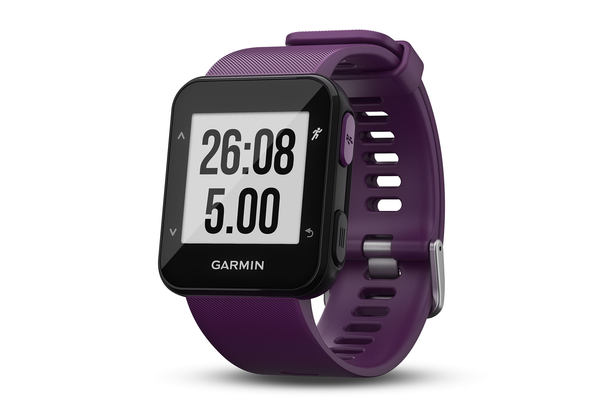 montre gps garmin forerunner 30 violet. Black Bedroom Furniture Sets. Home Design Ideas