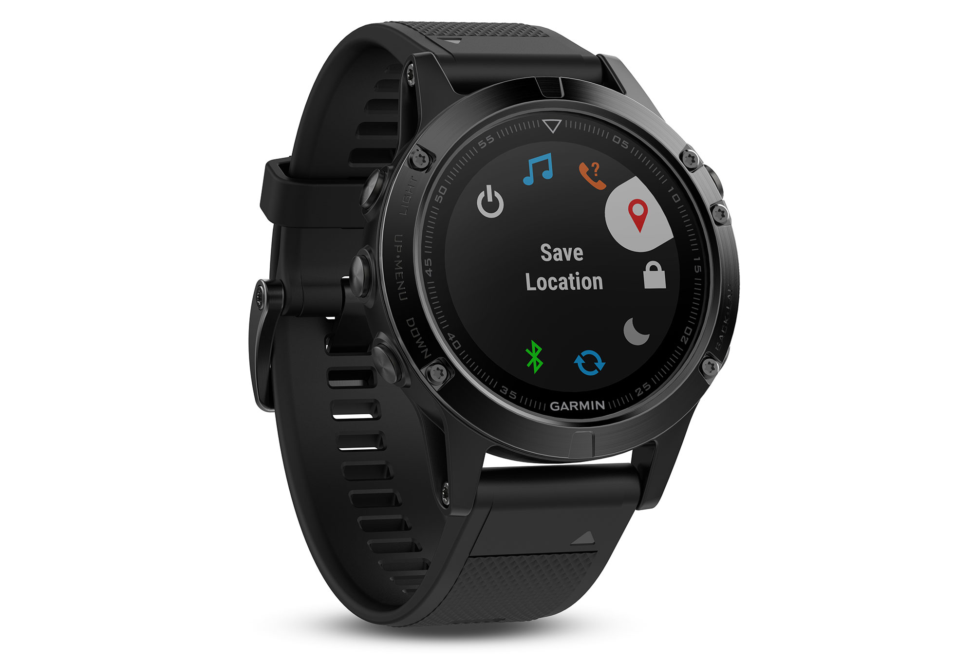 garmin fenix 5 sapphire gps uhr schwarz. Black Bedroom Furniture Sets. Home Design Ideas