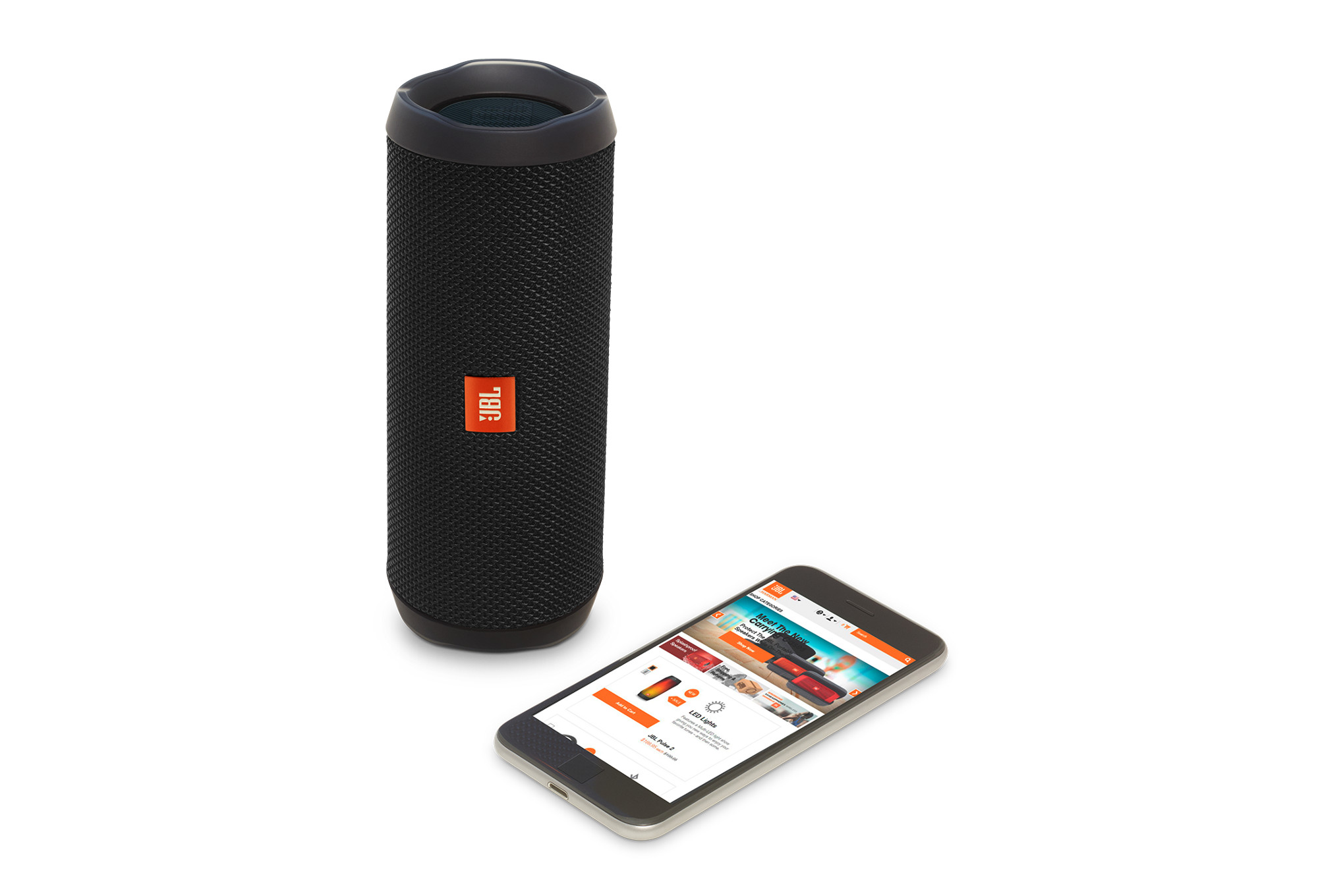 enceinte bluetooth jbl nomade flip 4 noir. Black Bedroom Furniture Sets. Home Design Ideas