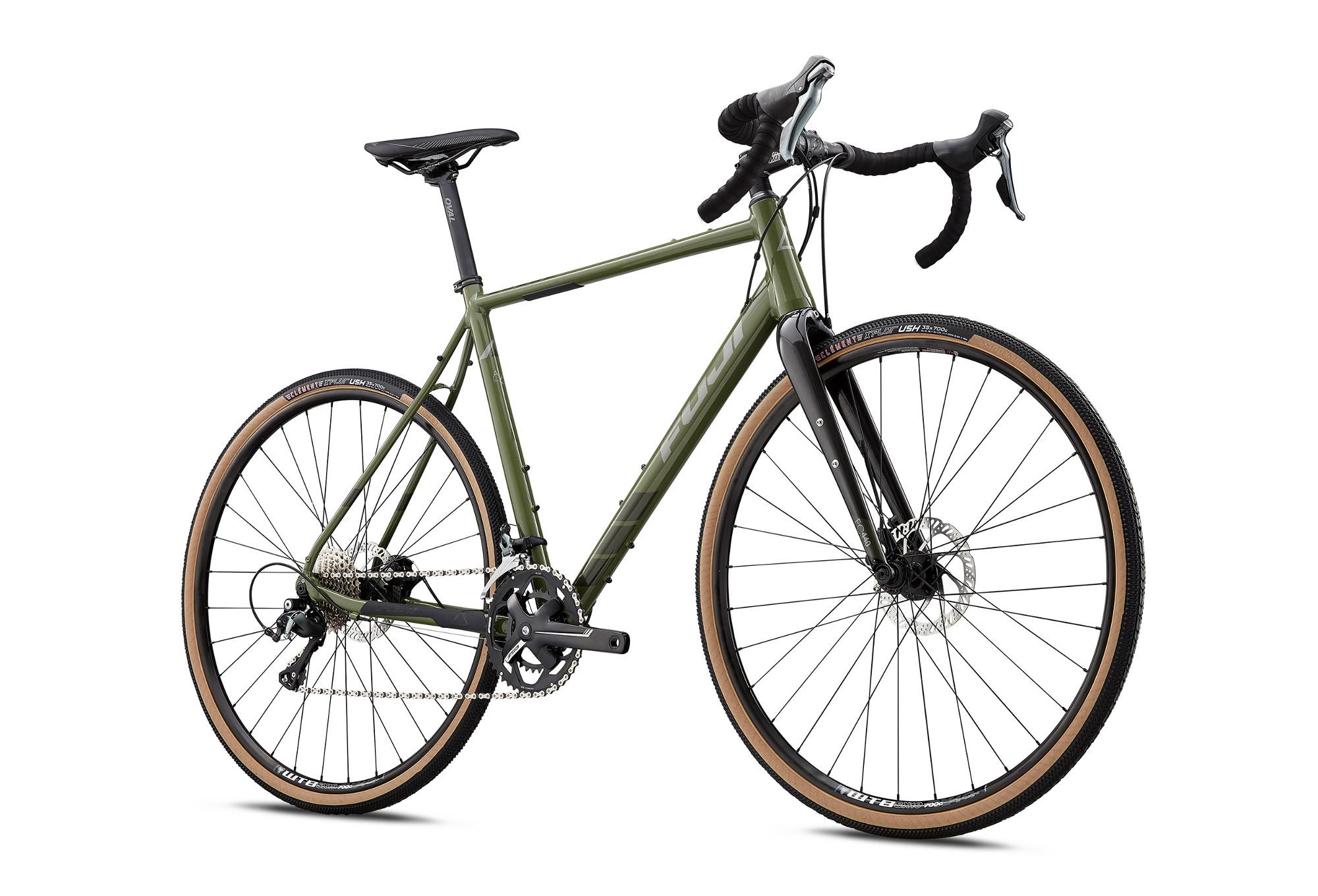 Gravel Bike FUJI 2018 JARI 1.7 Shimano Tiagra 10-fach Olivgrün ...