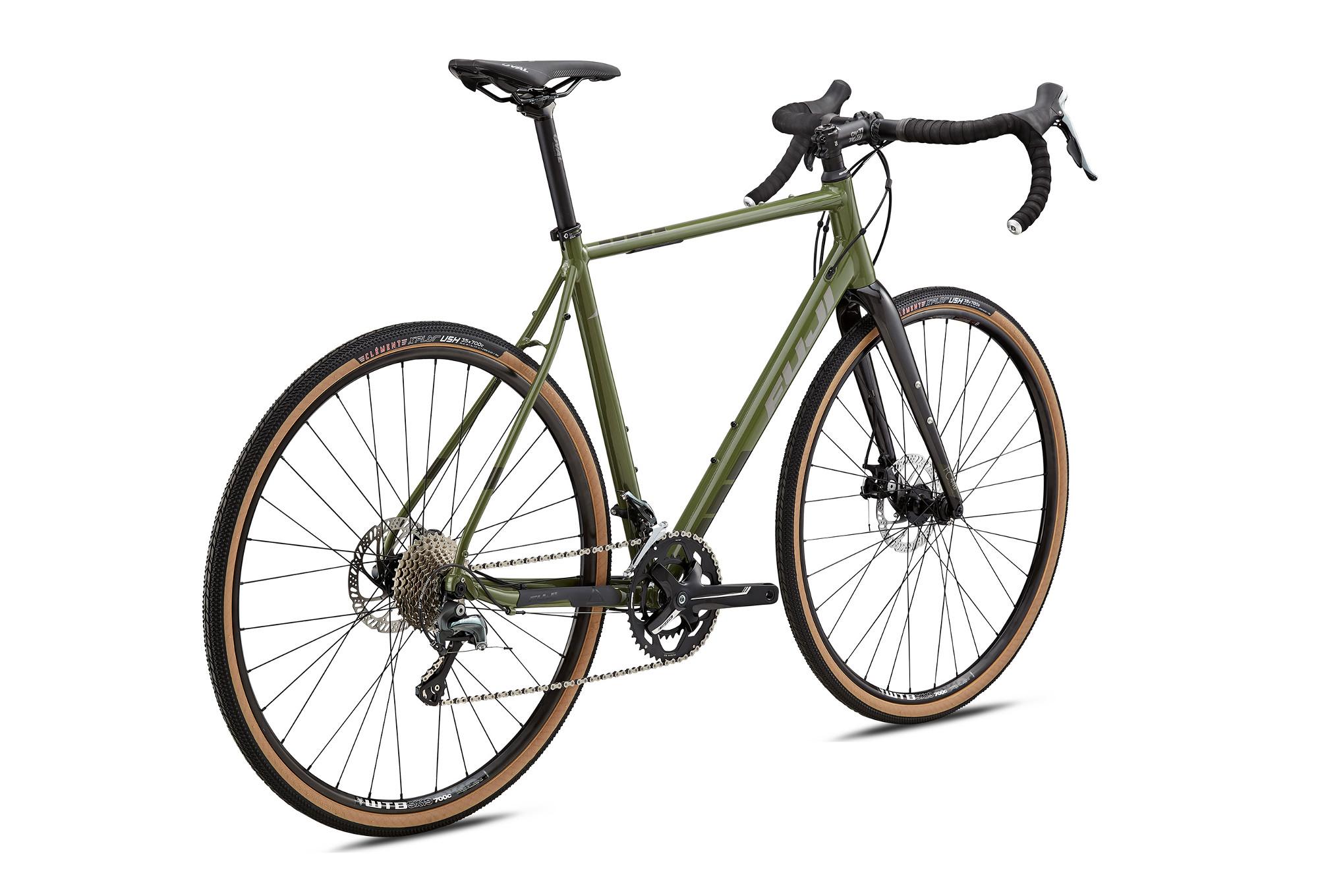 gravel bike fuji 2018 jari 1 7 shimano tiagra 10v olive. Black Bedroom Furniture Sets. Home Design Ideas