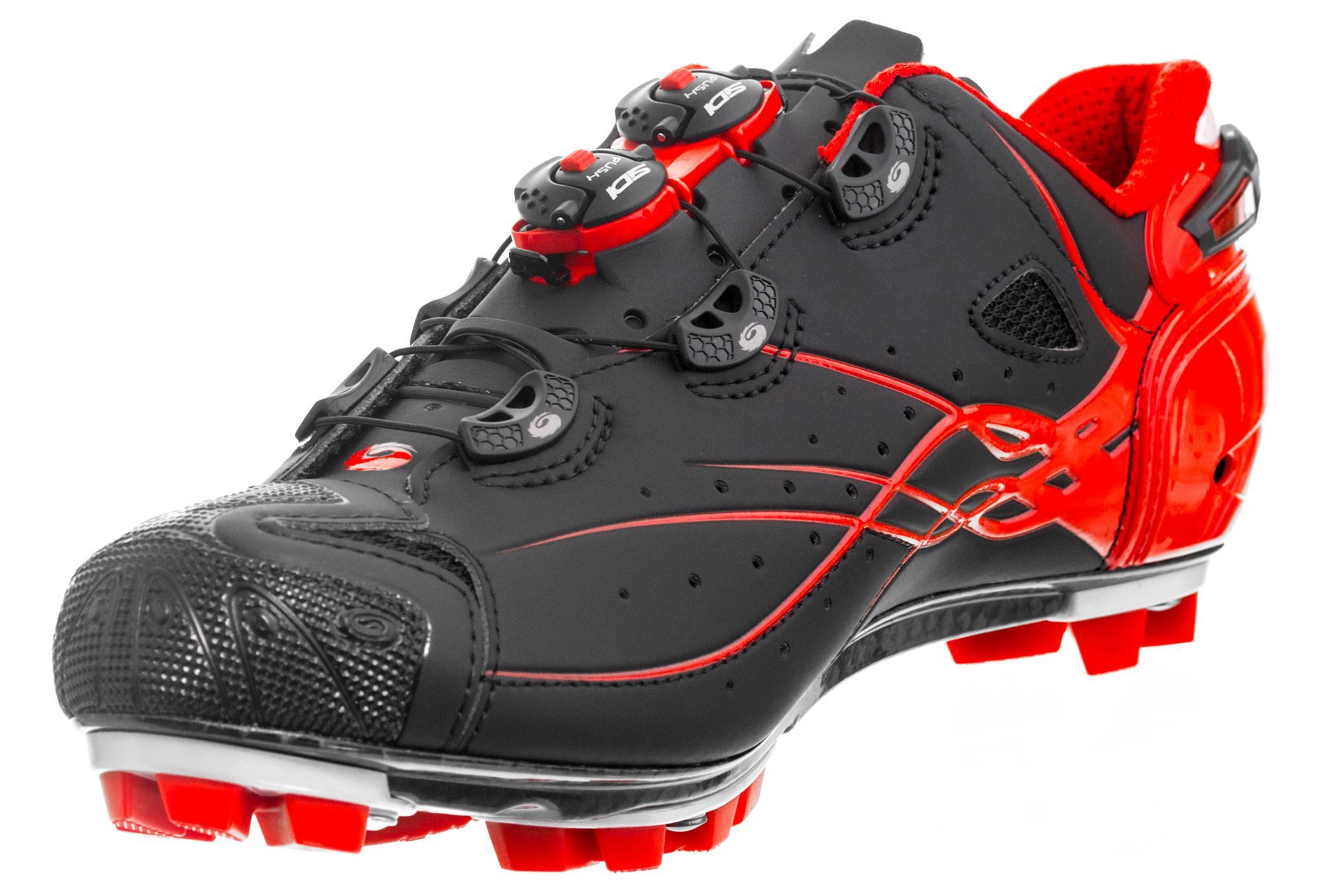 Zapatillas MTB SIDI 2018 Tiger Black Red