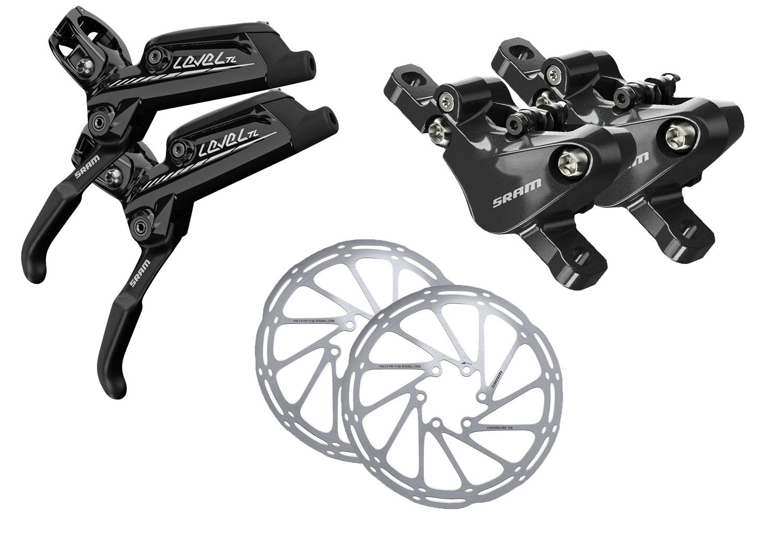 sram level tl brake set  180mm intl discs