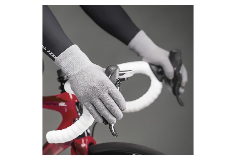 Long Gloves Gripgrab Merino Liner Grey Alltricks Com