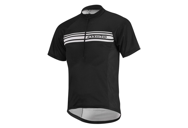 maillot alpinestars lunar black white. Black Bedroom Furniture Sets. Home Design Ideas