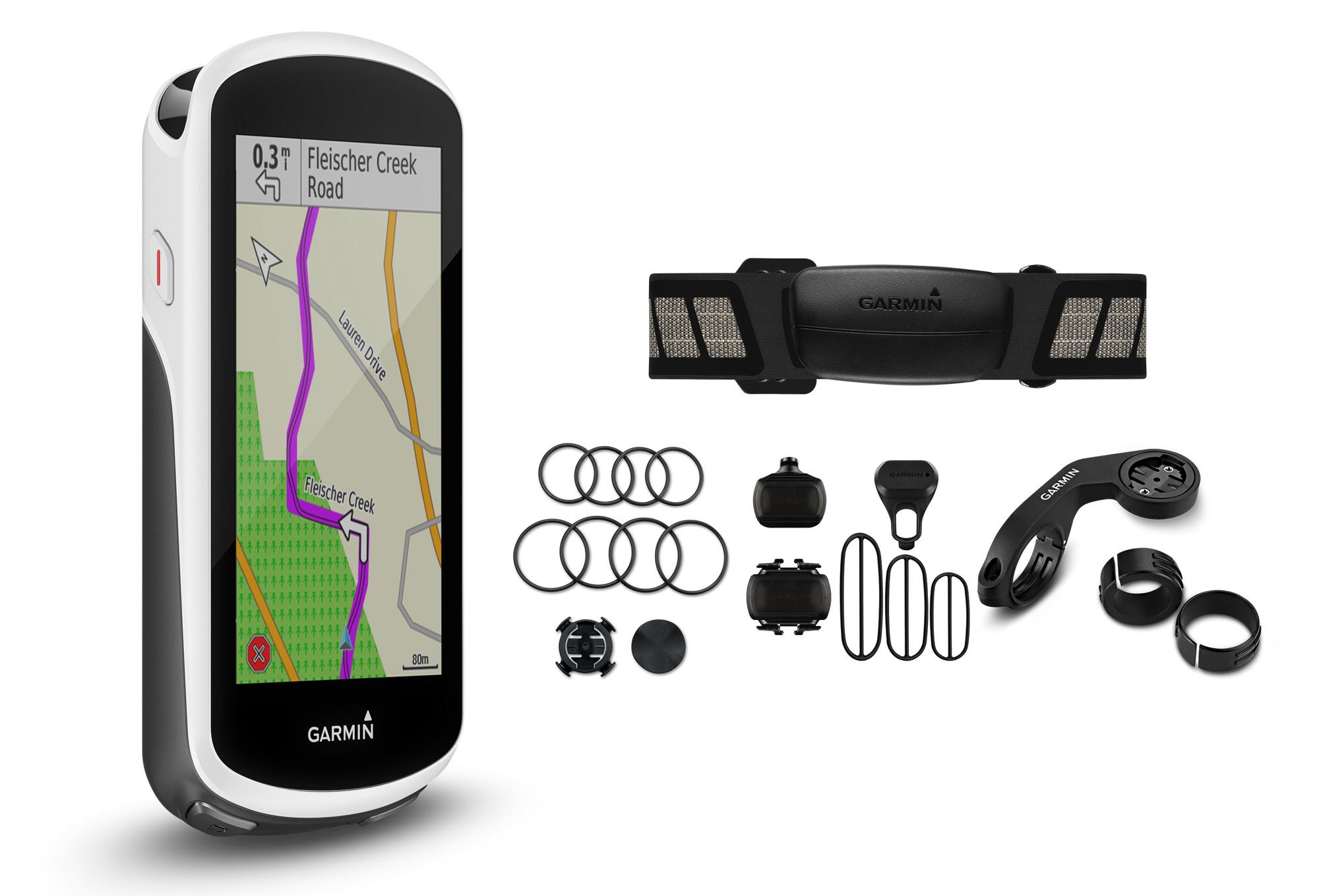 f4678d6d17 Compteur GPS Garmin Edge 1030 Pack Cardio + Cadence + Vitesse ...