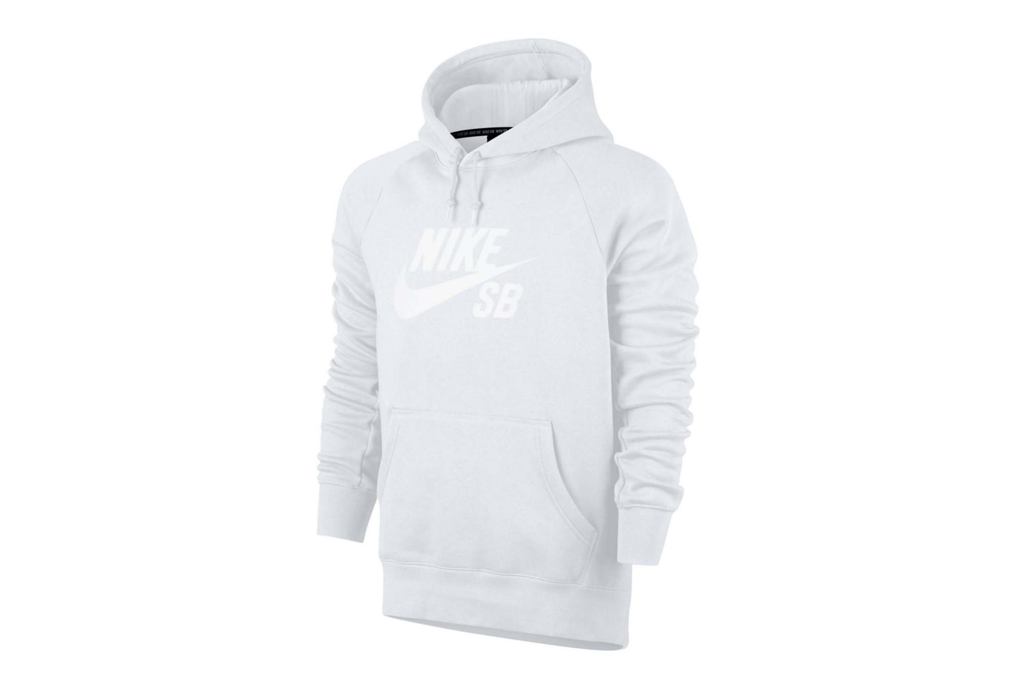 Sudadera Nike Icon Capucha Con Sb Blanca 35j4RLqA