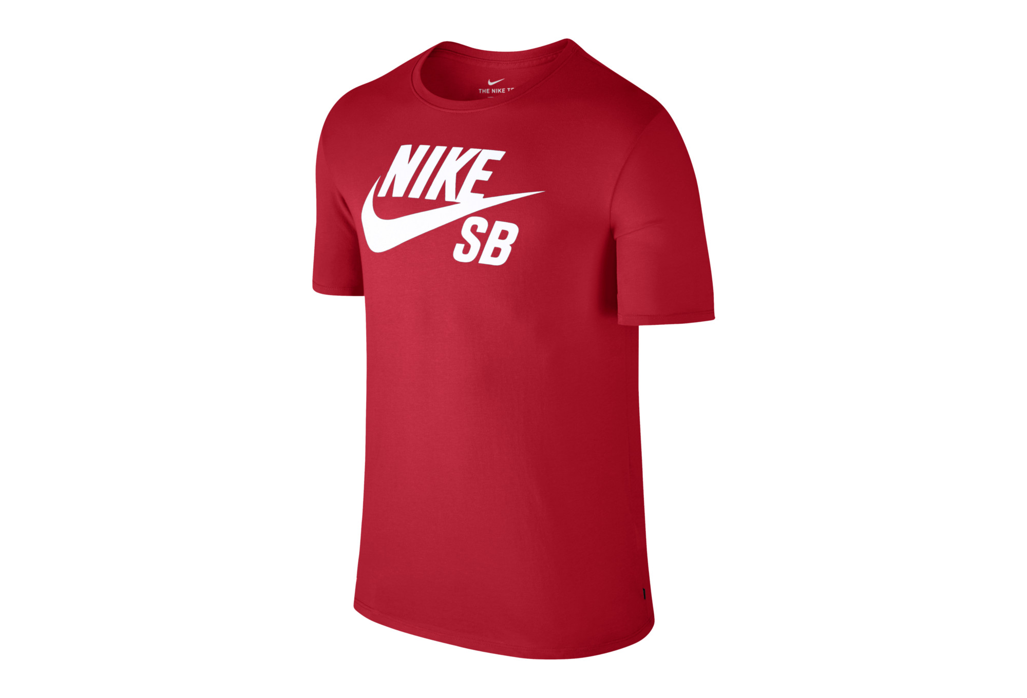 performance sportswear amazing price fast delivery Nike SB Logo T-Shirt Red