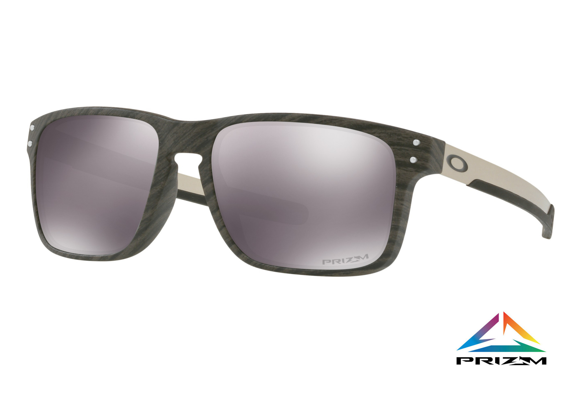 63459ec6457 OAKLEY Sunglasses Holbrook Mix Woodgrain Prizm Black Ref  OO9384-0457