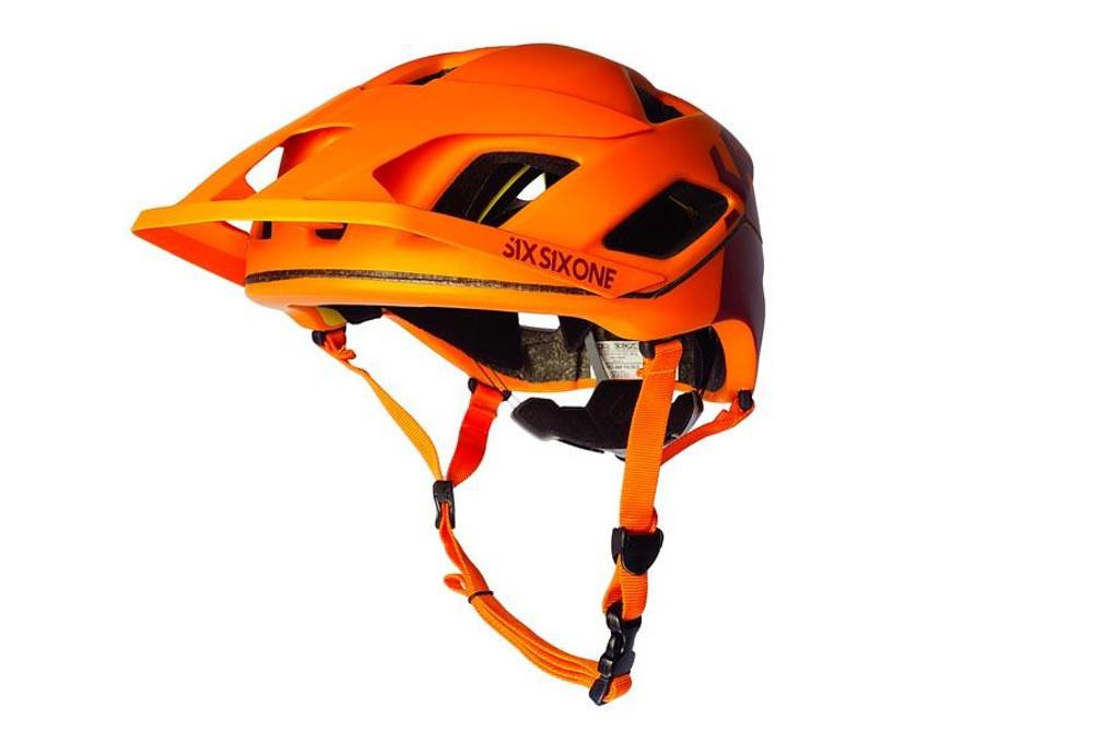 casque vtt 661 sixsixone evo patrol orange. Black Bedroom Furniture Sets. Home Design Ideas