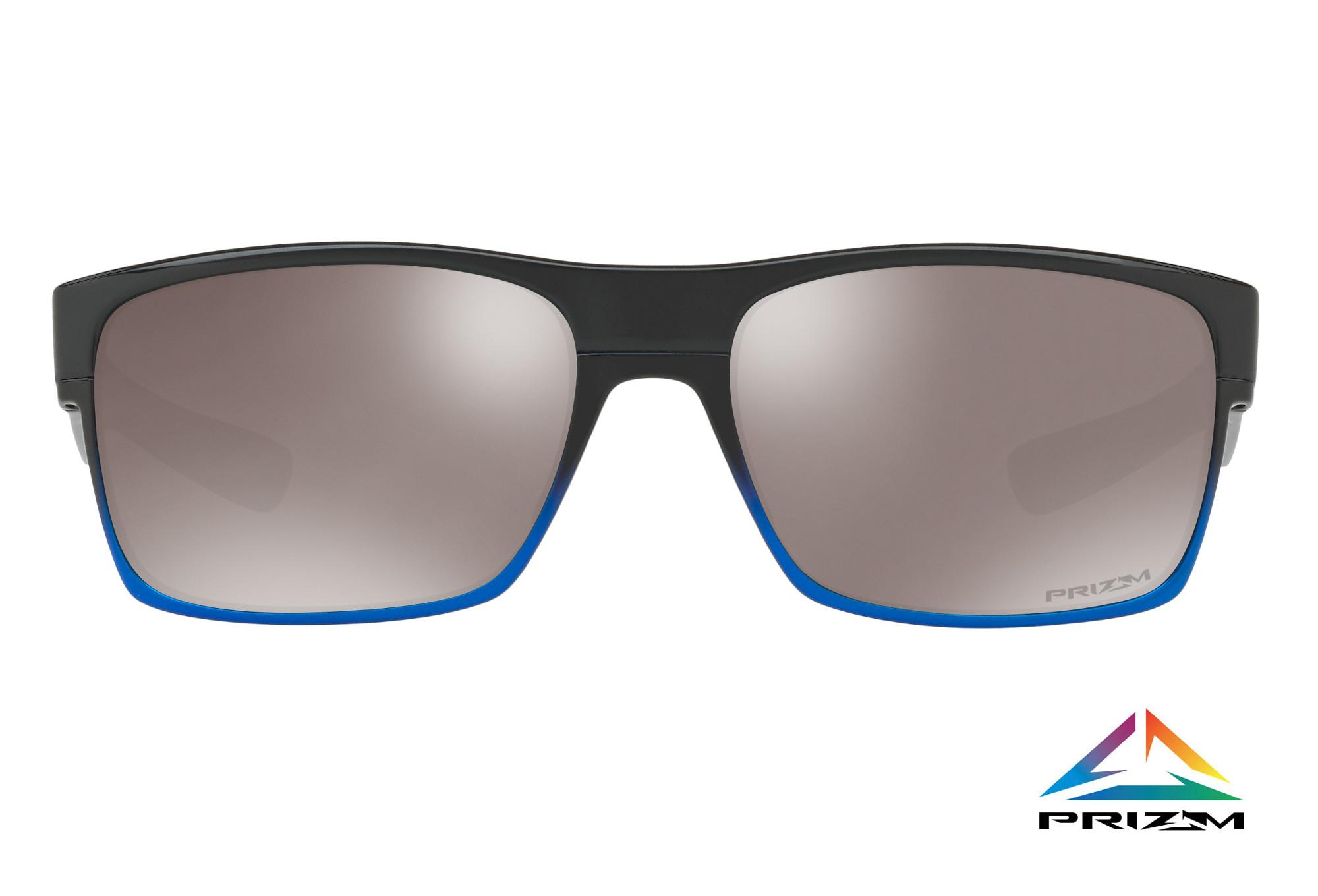 boutique outlet come comprare nuove foto OAKLEY Sunglasses Two Face Neon Pop Blue Pop Fade W/ Prizm Black ...