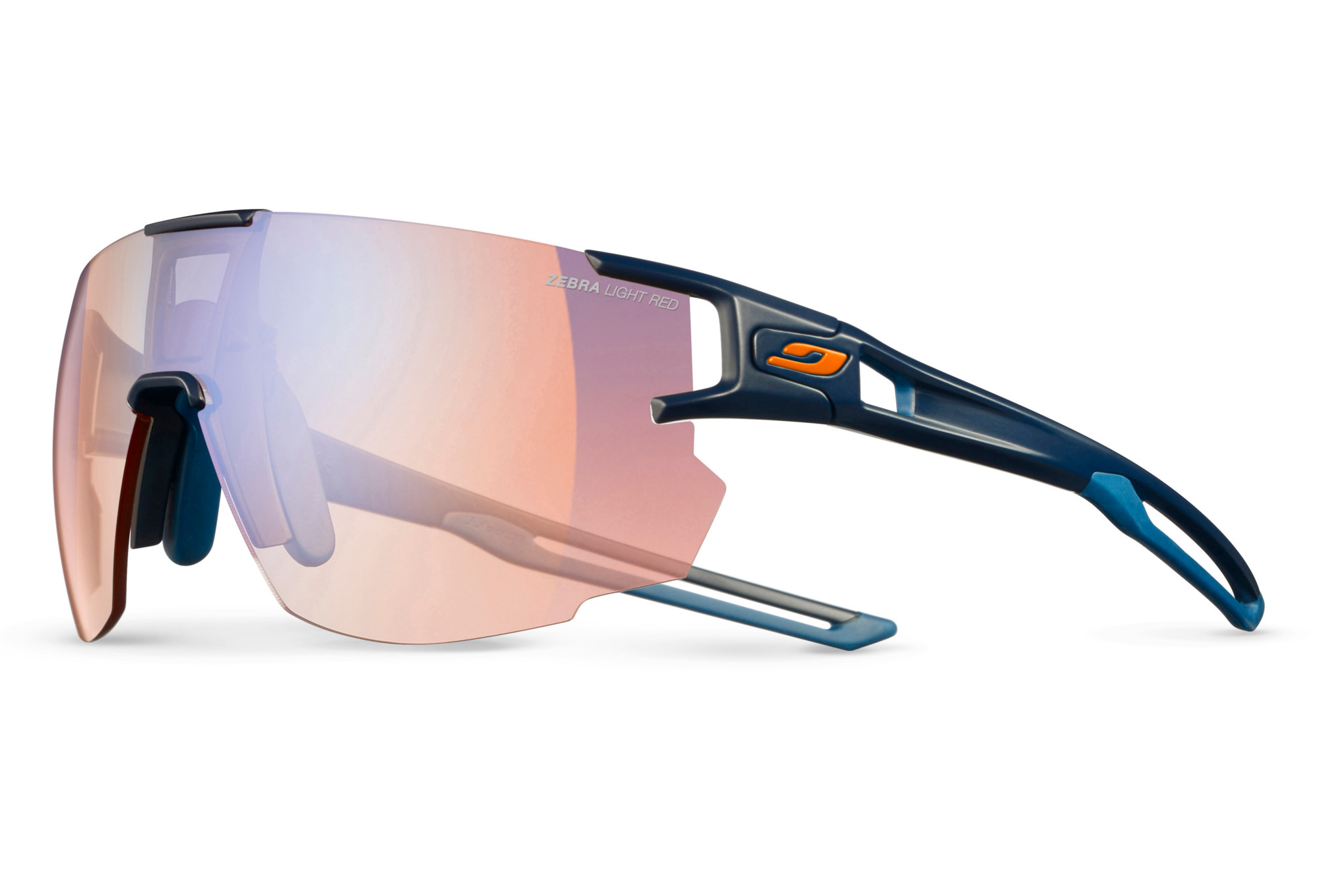 Julbo Aerospeed Sunglasses Zebra Light Blue - Red   Alltricks.com 69e96c1259ca