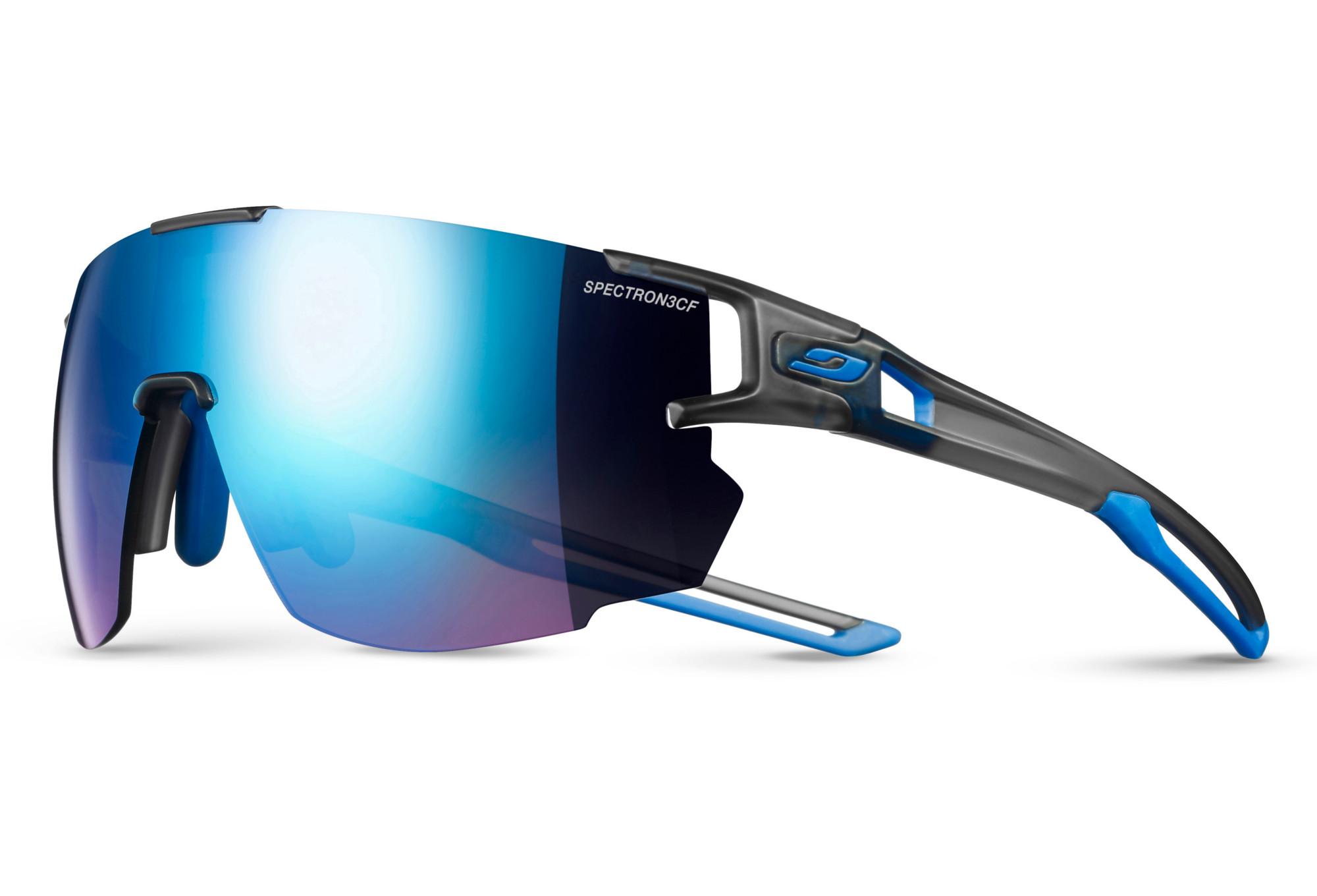 ff7b58954156e0 Julbo Aerospeed Sunglasses Zebra Light Grey - Blue   Alltricks.com
