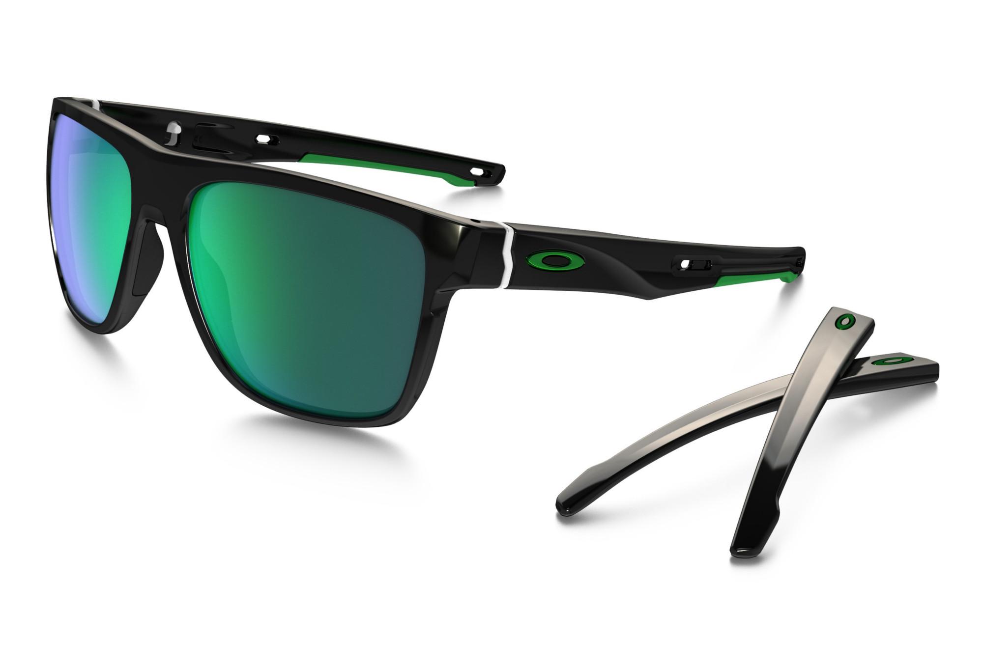 OAKLEY Sunglasses Crossrange XL Polished Black Jade Iridium Ref OO9360-0258 7e096086295a