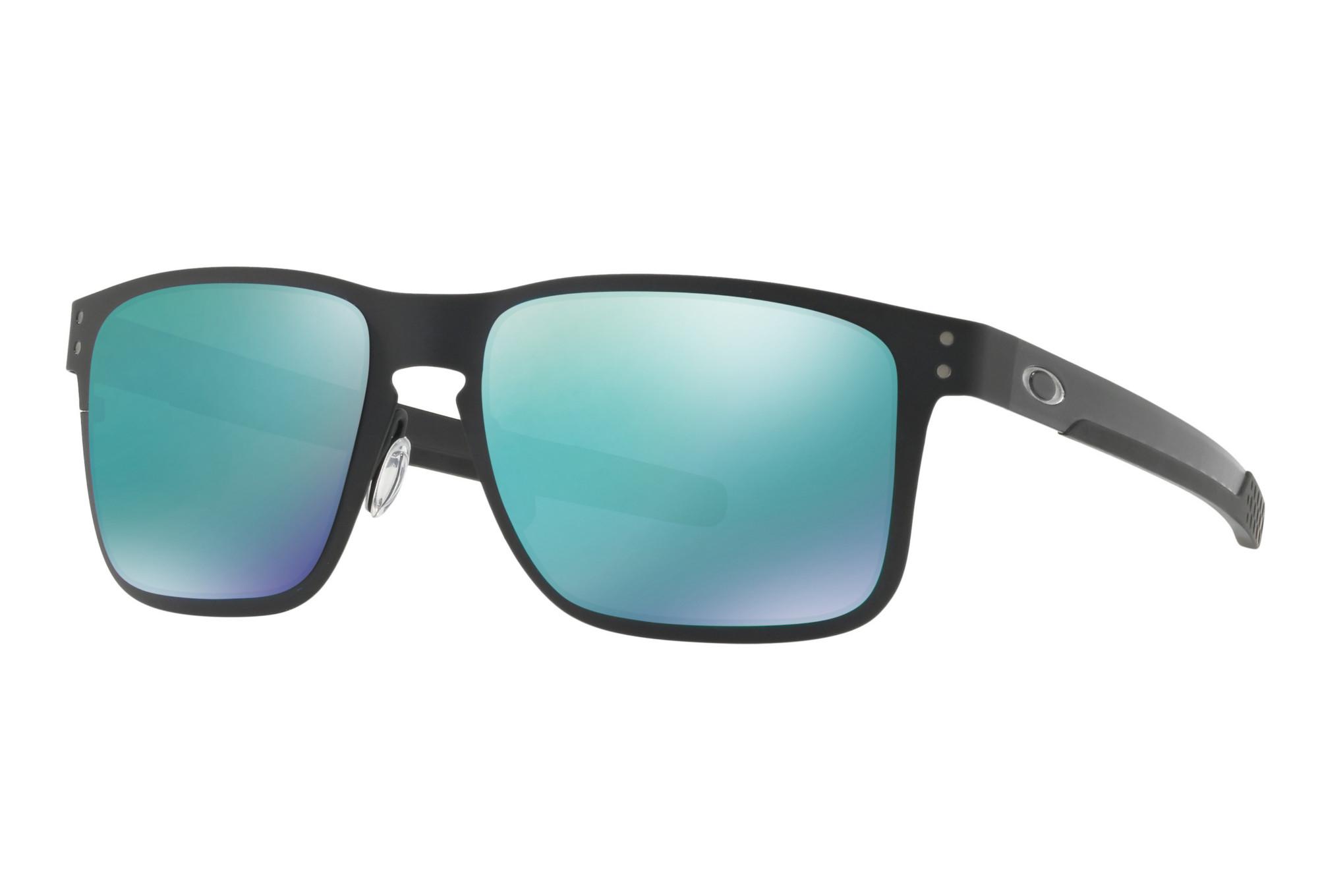 afa70d25a3 OAKLEY Sunglasses Holbrook Metal Matte Black Jade Iridium Ref  OO4123-0455