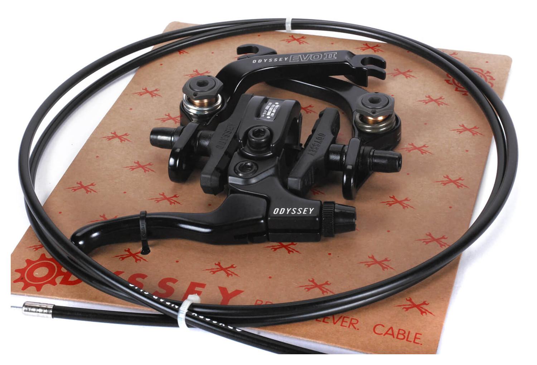 kit frein levier cable odyssey evo 2 noir. Black Bedroom Furniture Sets. Home Design Ideas