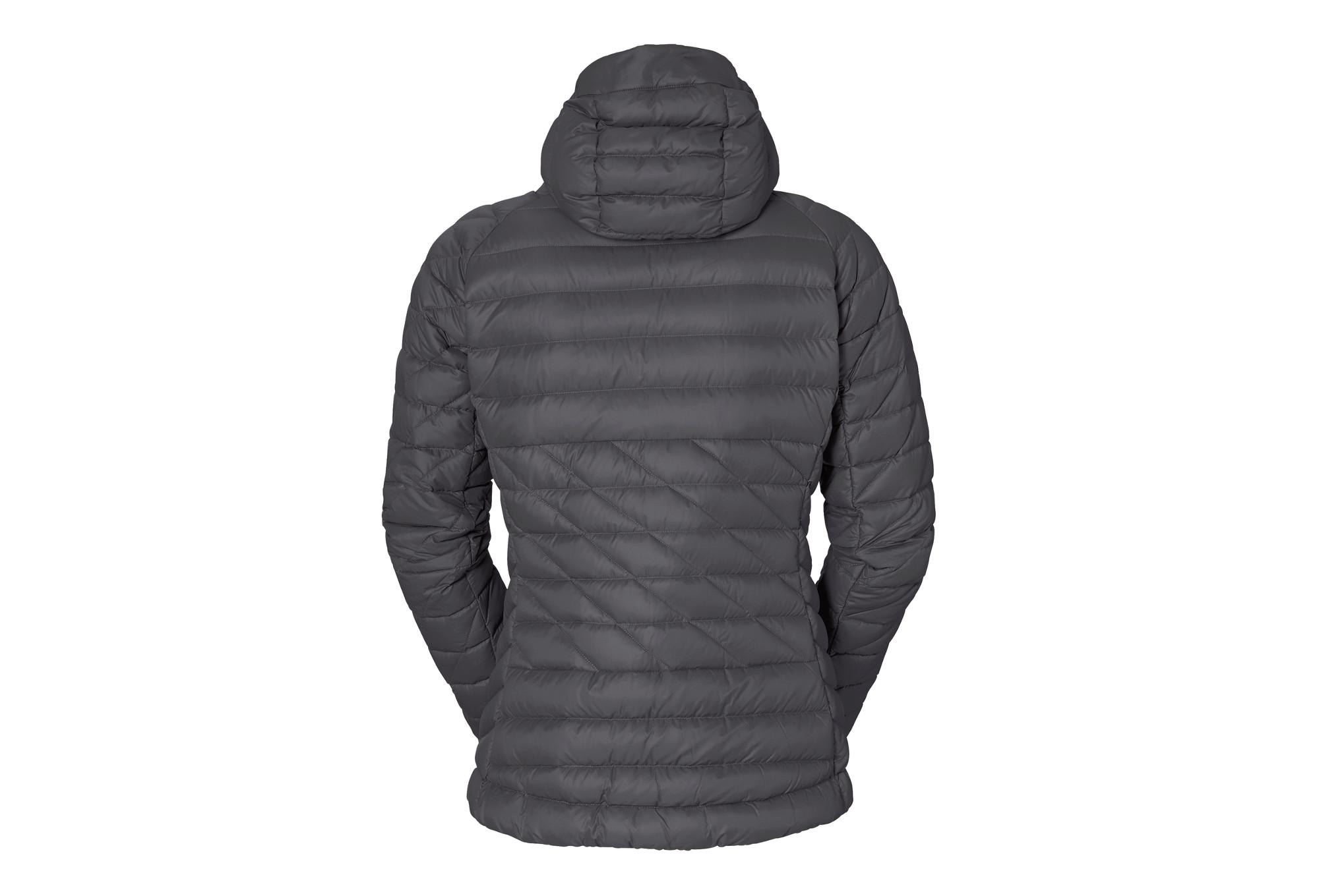 2d1f82f8d Vaude Kabru Women's Hooded Jacket II Grey