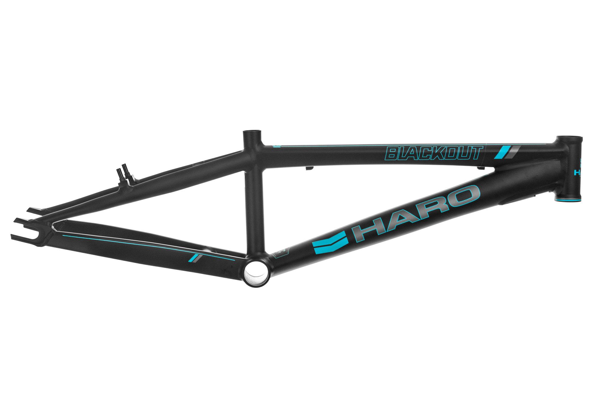 Refurbished Product** BMX Race HARO BLACKOUT Frameset - Black - Pro ...