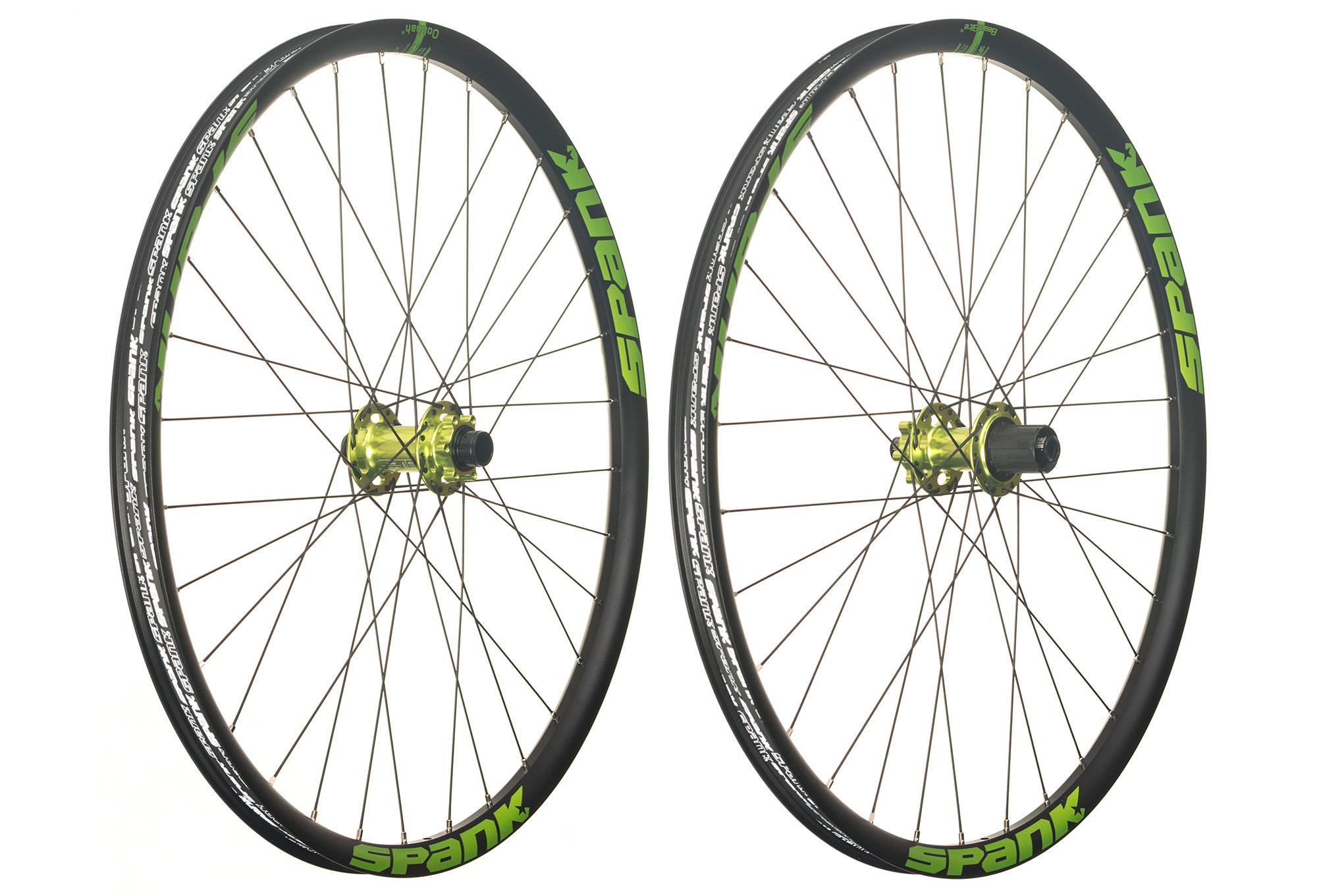 Spank rims wheel set valuable