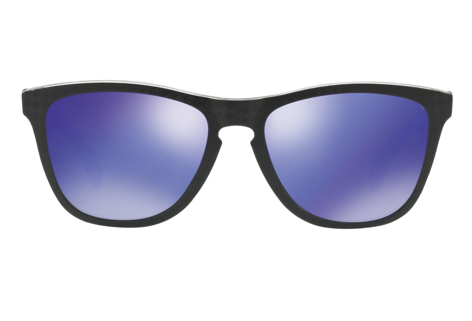 6dc412fa65c OAKLEY Sunglasses Frogskins Checkbox Black   Violet Iridium Ref  OO9013-B955