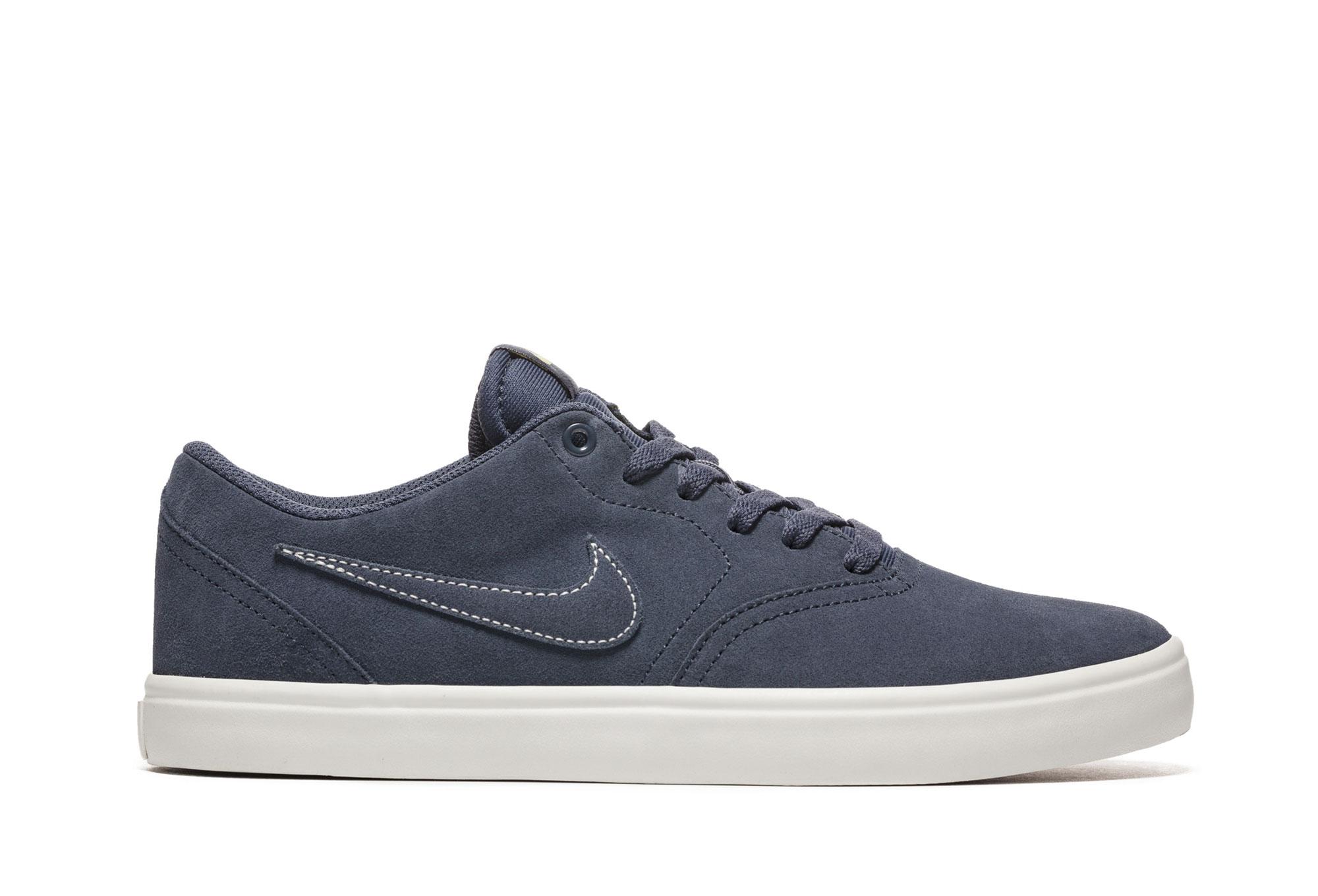 Nike SB Check Solarsoft Shoes Blue White  e3d826e60