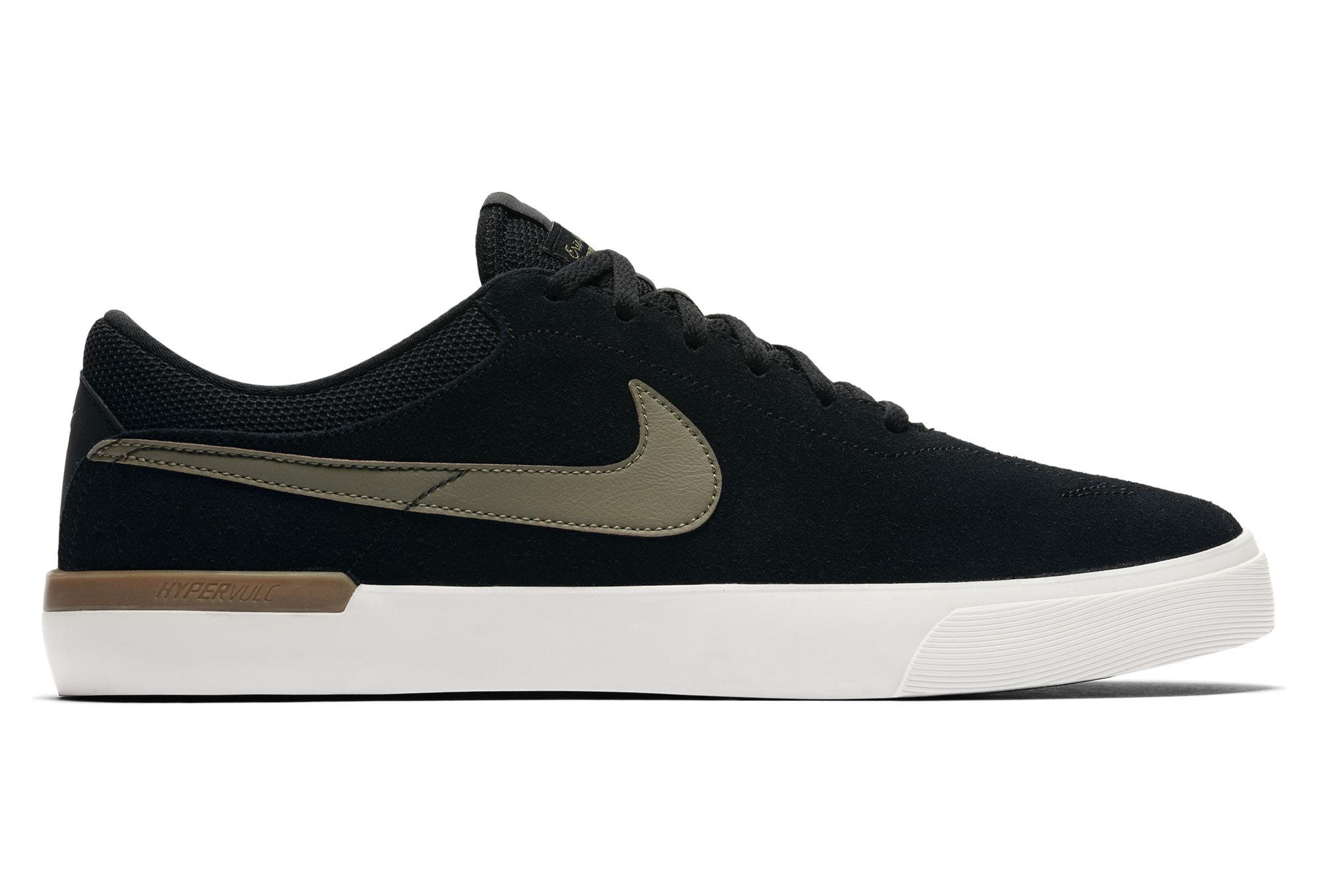 7b026fb47454 Nike SB Hypervulc Eric Koston Shoes Black Green
