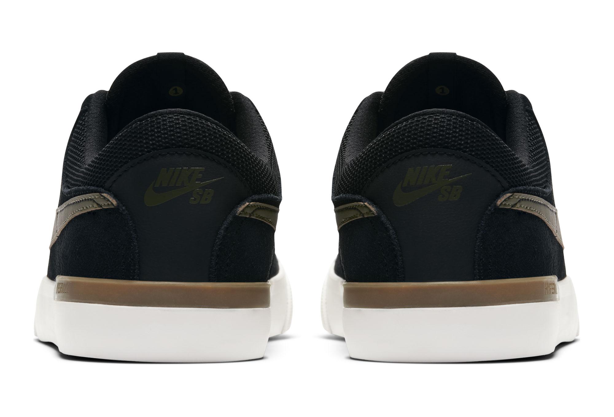 finest selection 798cd 940e5 Nike SB Hypervulc Eric Koston Shoes Black Green