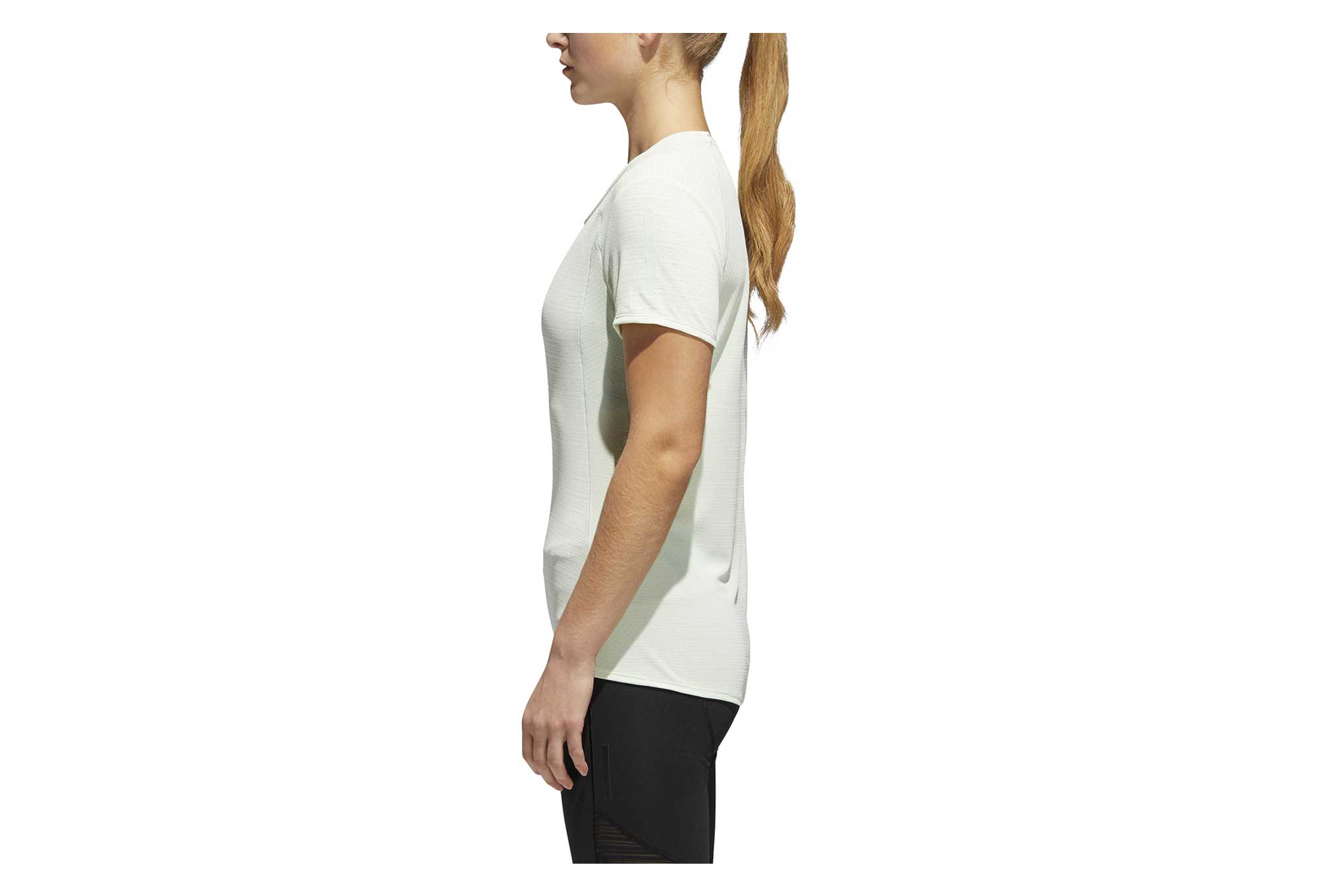 9833f144f38 adidas running Fran Supernova Short Sleeves Jersey White | Alltricks.com