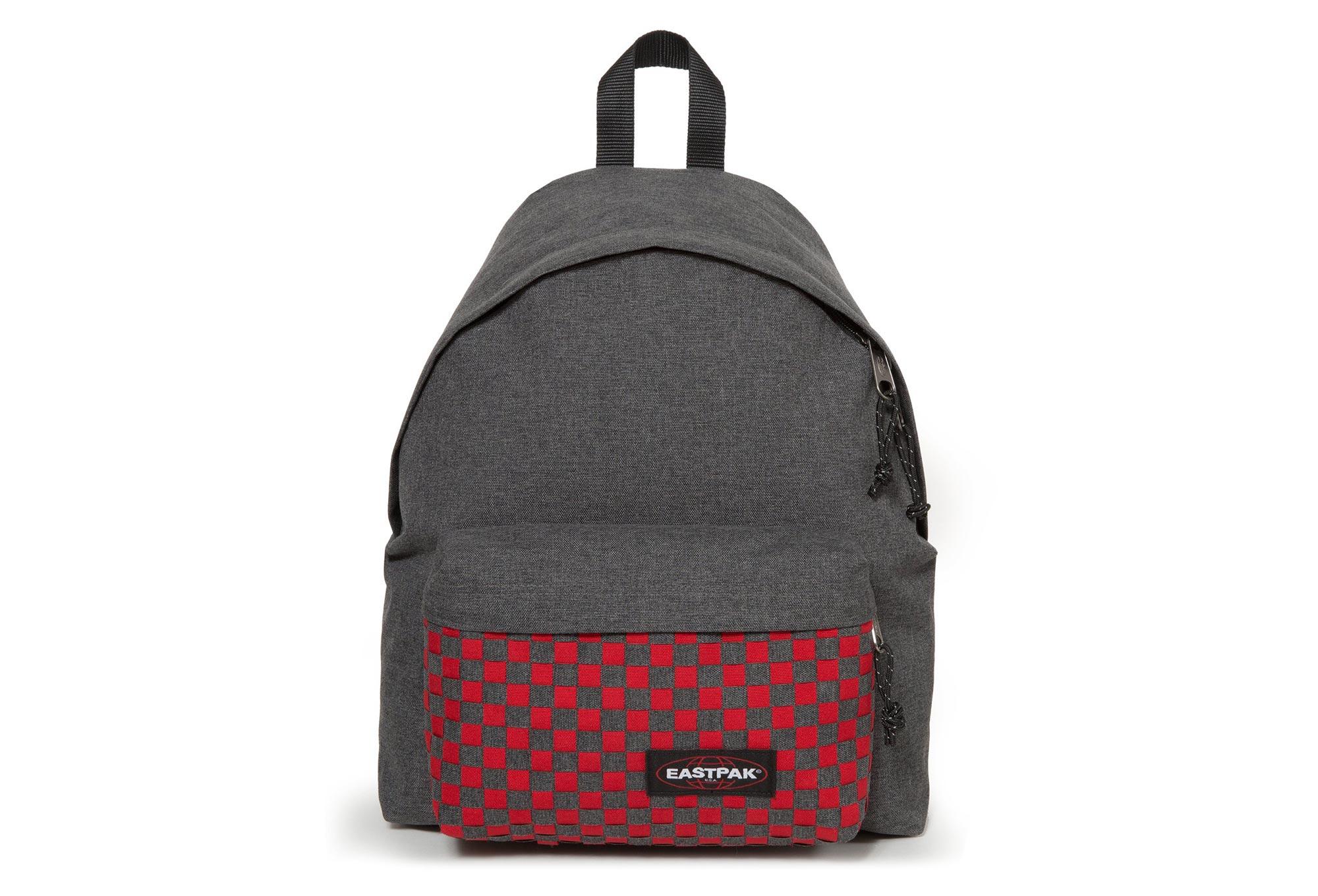 Eastpak Padded Pak'R Backpack Red Weave