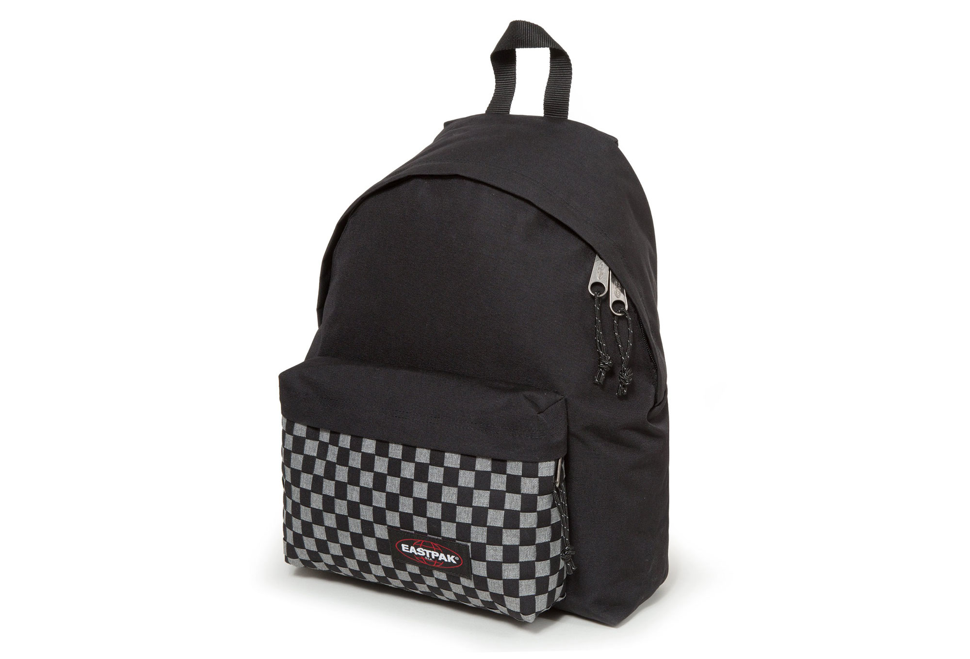 sac dos eastpak padded pak r grey weave noir gris. Black Bedroom Furniture Sets. Home Design Ideas