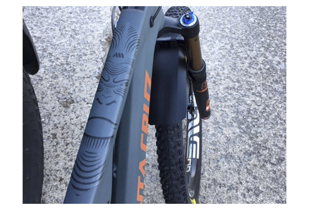 All Mountain Style AMS Honeycomb Frame Guard EXTRA Clear Transparent XL
