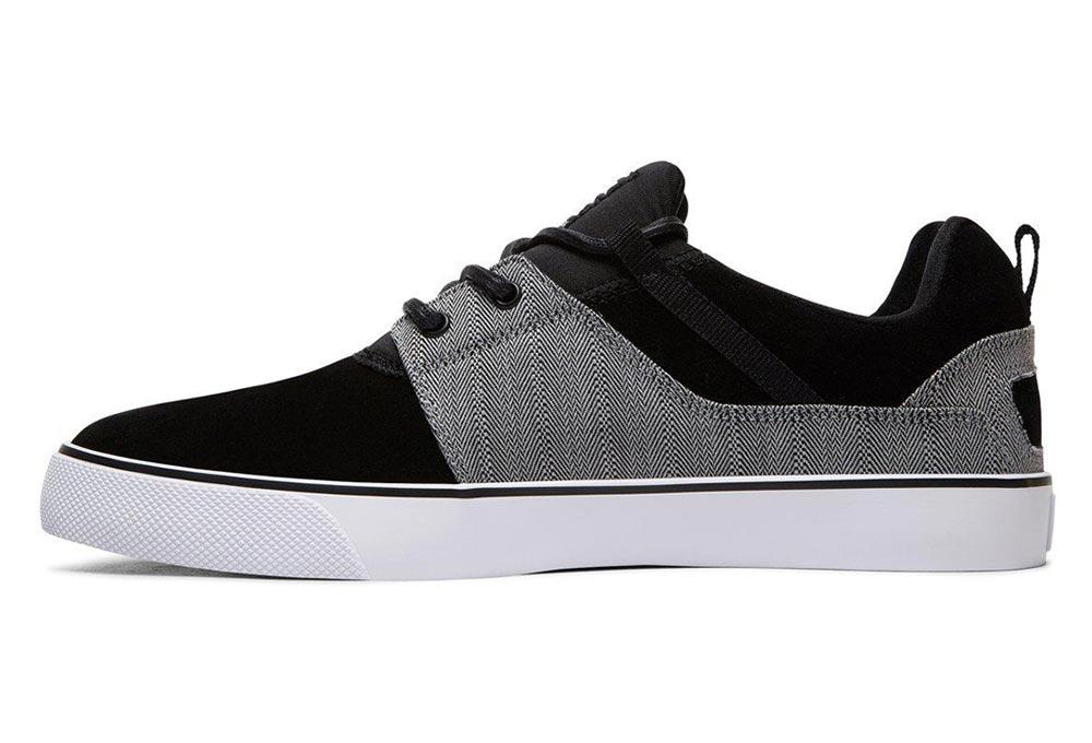 Chaussures Heathrow Vulc SE Noir/Gris - DC Shoes CsuGQhlB