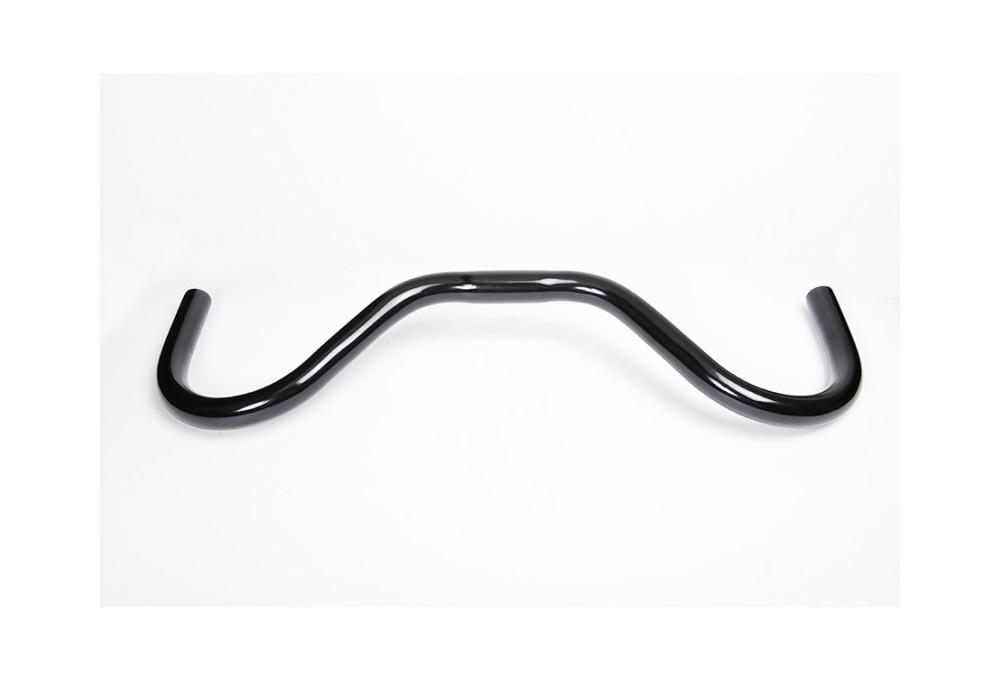 RMS Manubrio Mustache 25,4x515mm colore nero satinato