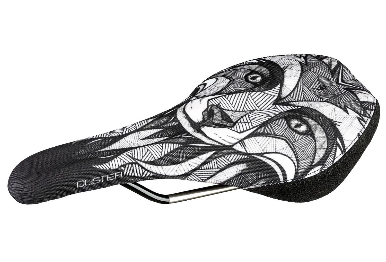 SDG Chepi Duster P MTN Saddle Ti-Alloy Rails Sublimated Fox Nylon Cover with