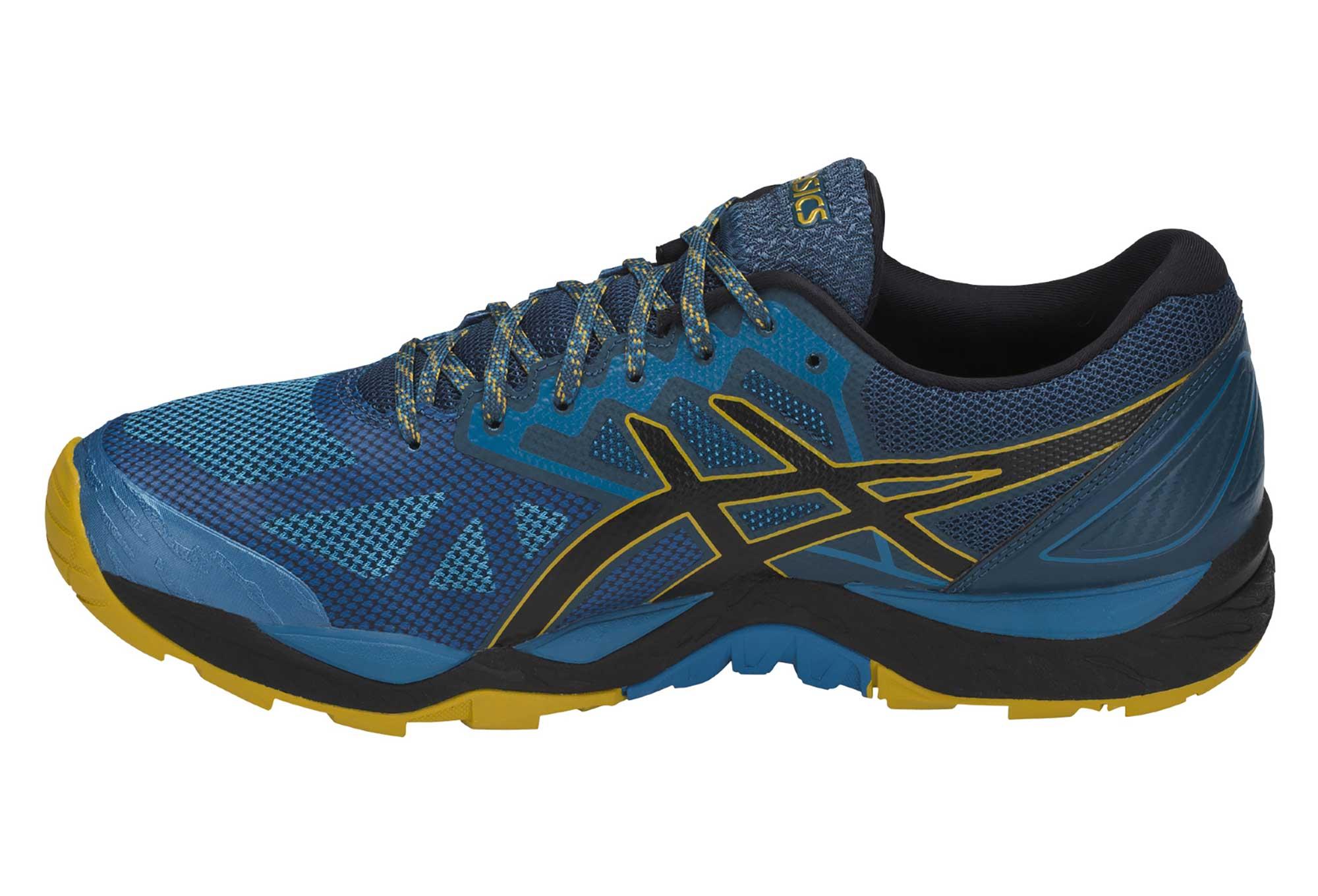 chaussures basses running homme asics gel fujitrabuco 6