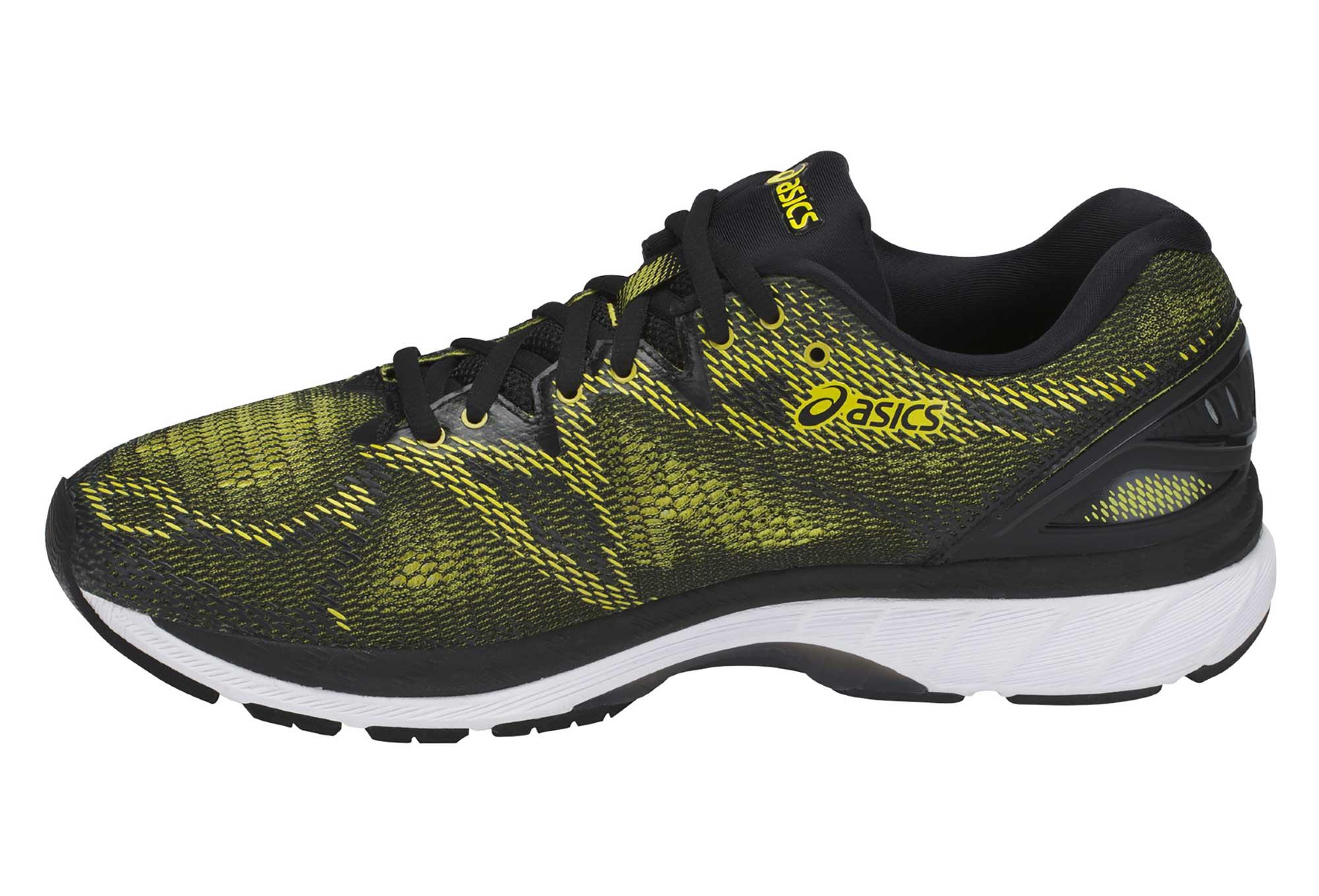 Asics 20 Running Nimbus Noir Jaune Gel Chaussures De HXwvEE