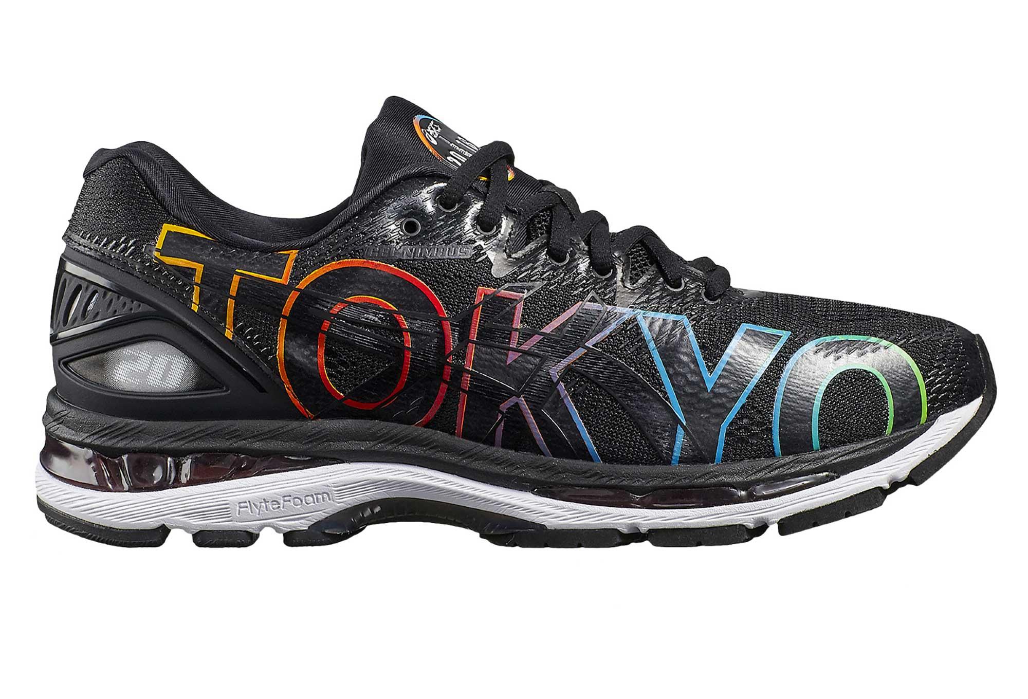Asics Gel-Nimbus 20 Tokyo Marathon Black Multicolor