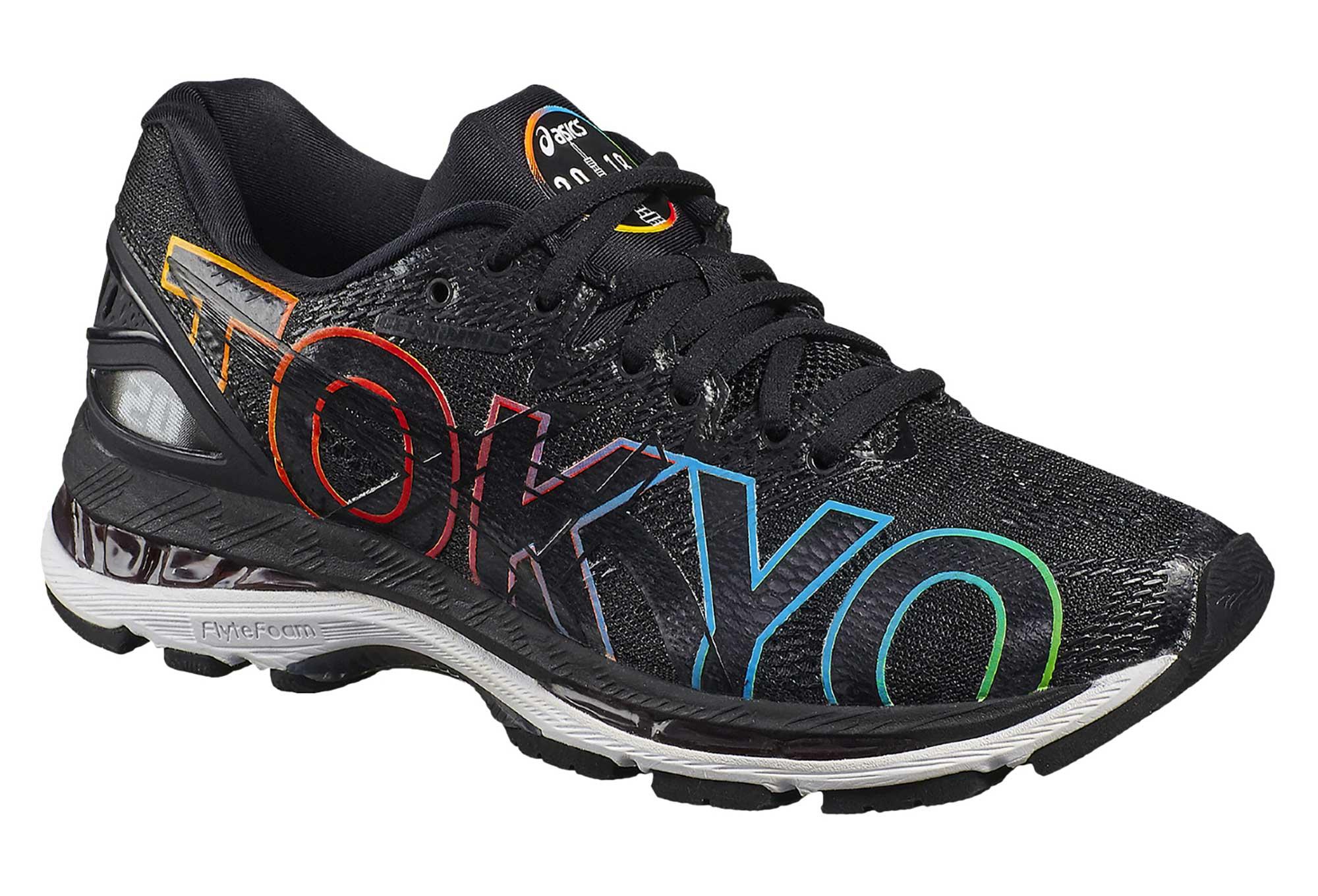 Asics Gel-Nimbus 20 Tokyo Marathon Schwarz Multicolor