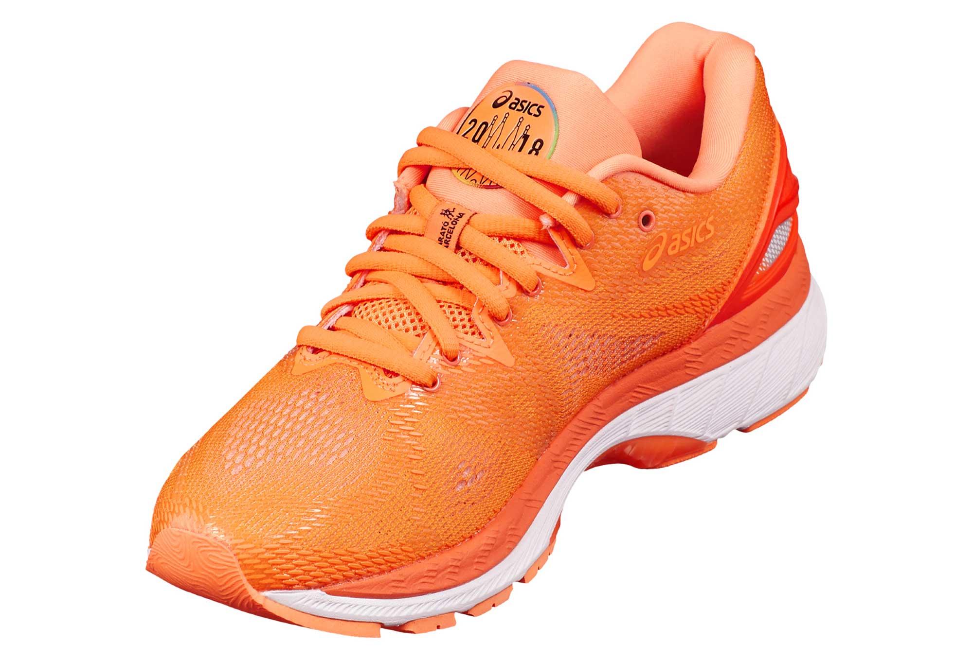 Asics Gel-Nimbus 20 Barcelona Marathon Orange