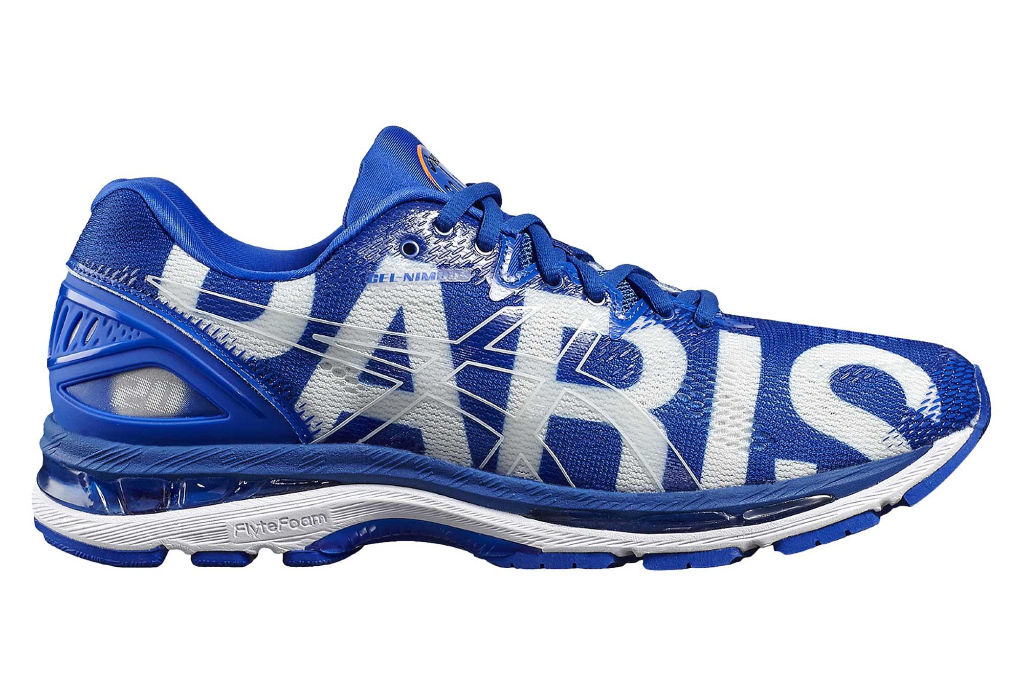 Hommes Gel Nimbus 20 Chaussures De Course Marathon Paris Asics BHCAu