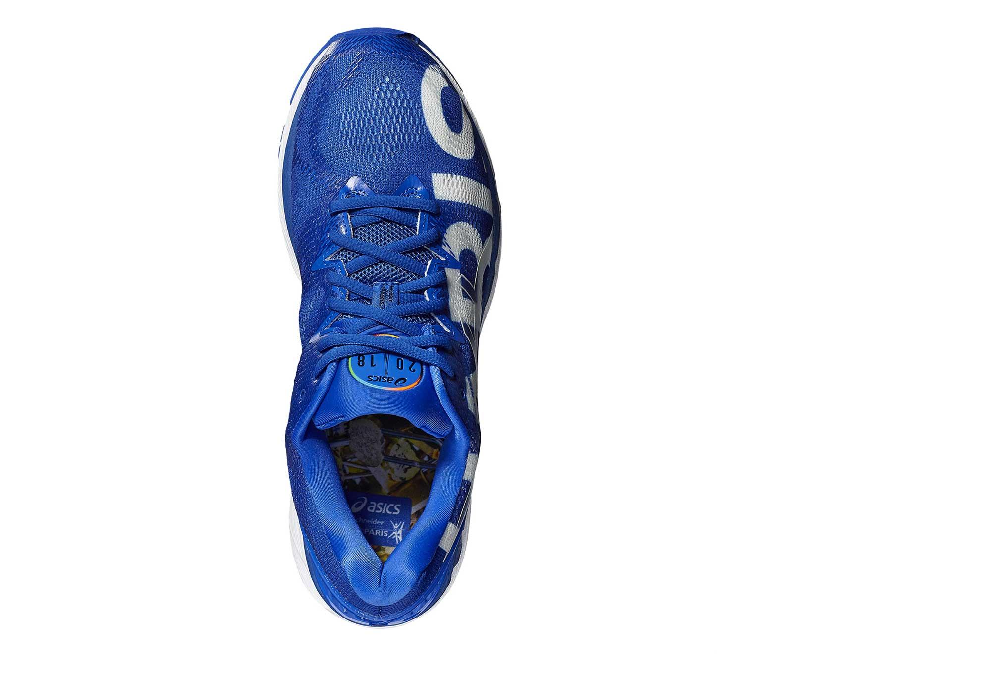 asics gel-nimbus 20 paris marathon chaussures de running homme