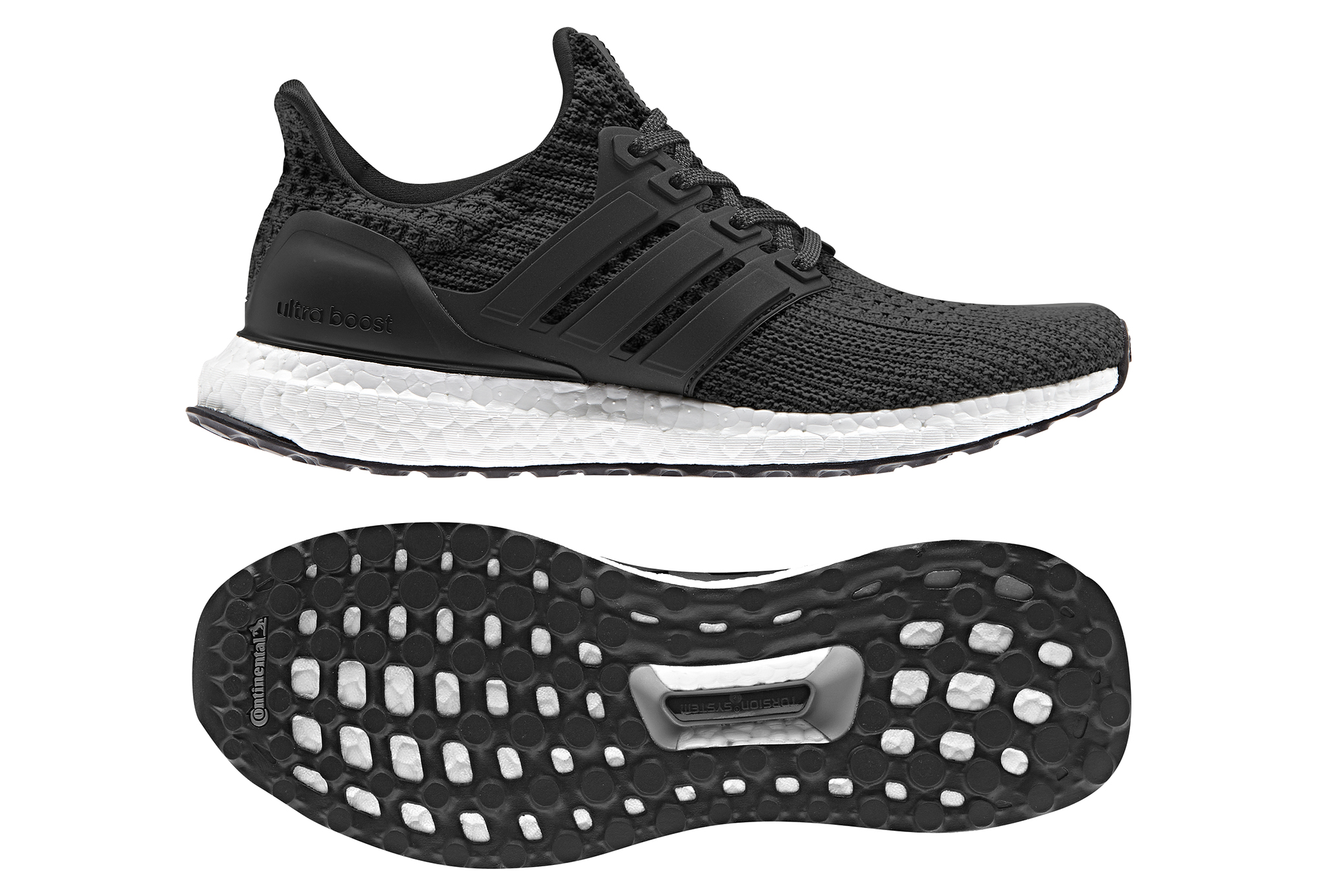 grossiste 5255d c49aa adidas running Women's Ultra Boost Black White