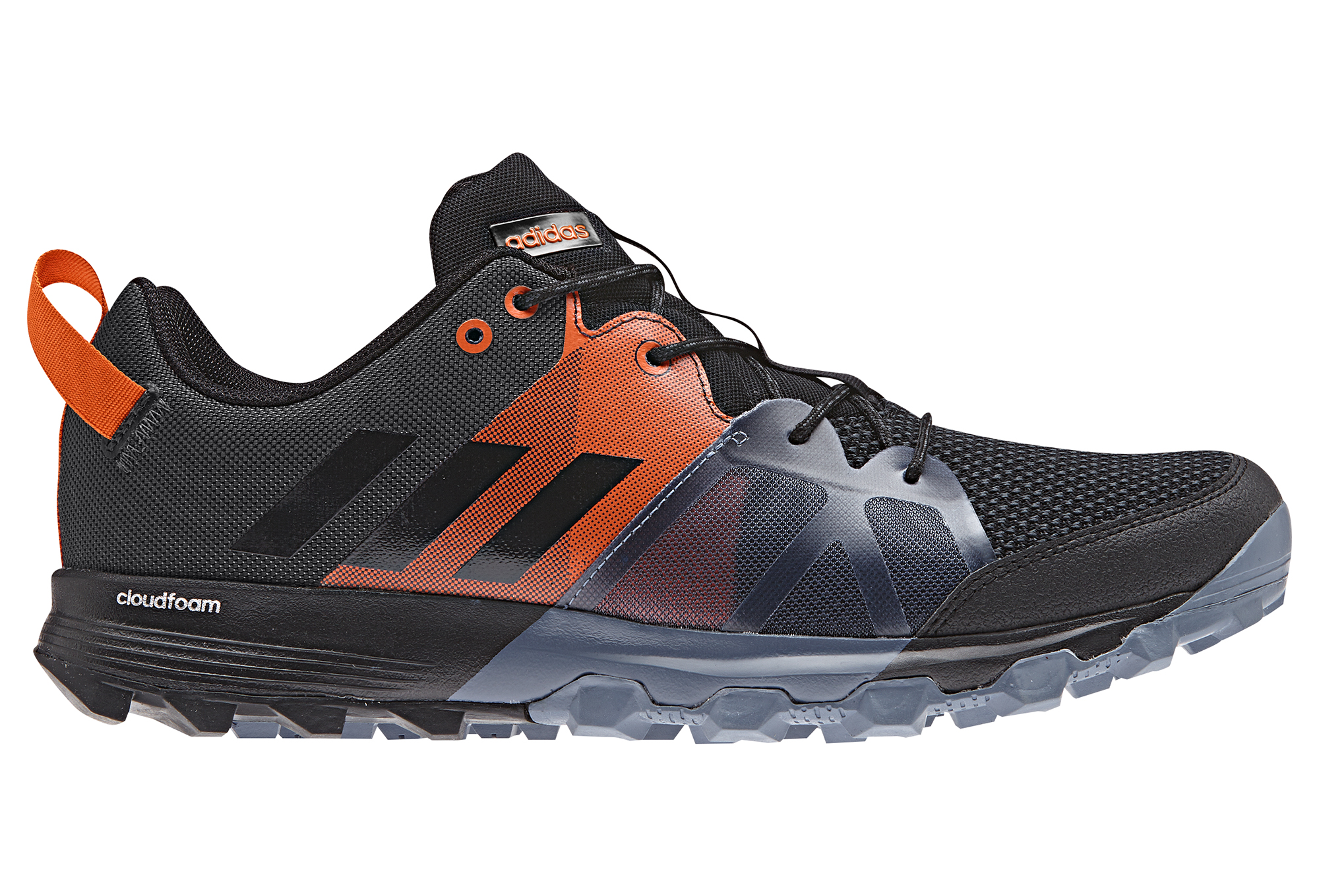 adidas running Kanadia 8.1 trail Black Orange Blue