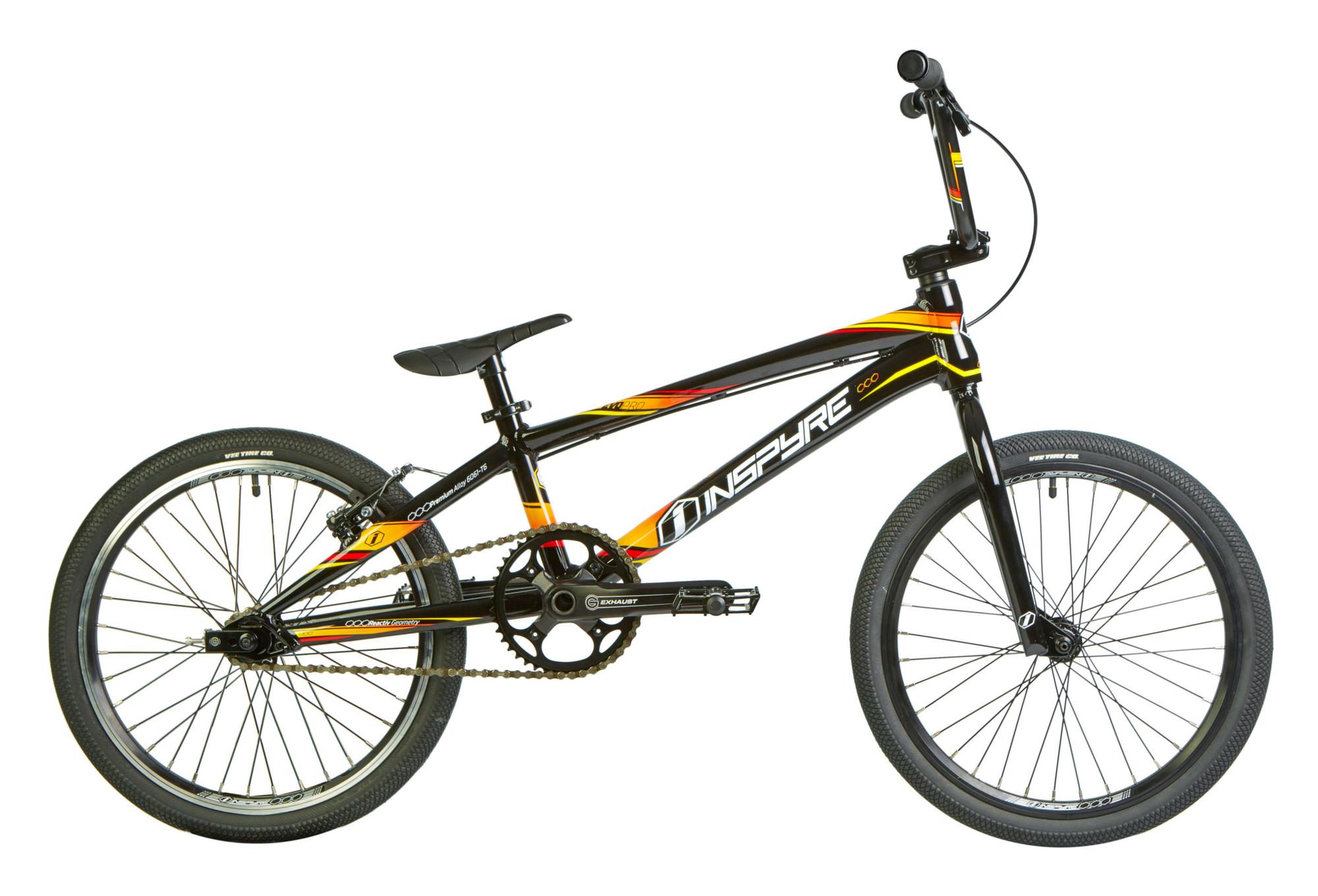 Inspyre Evo Rennen BMX Pro Schwarz Orange 2018 | Alltricks.de